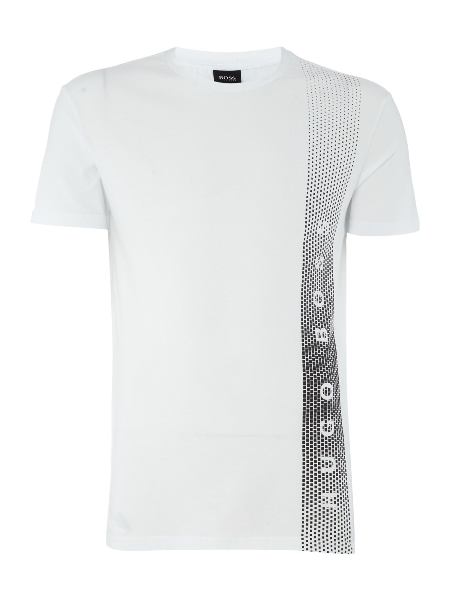 Men's Hugo Boss Side Logo T Shirt, White
