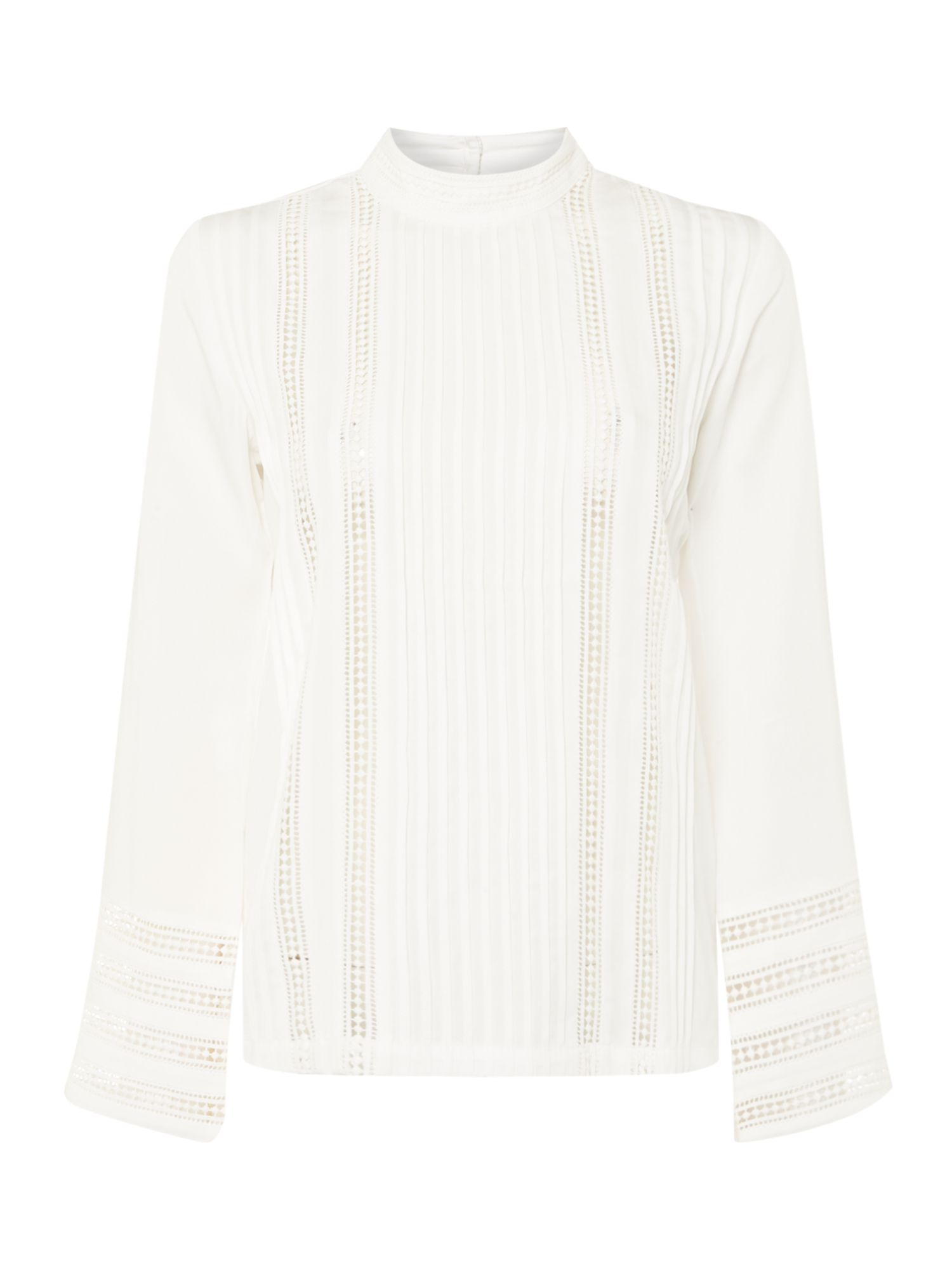 Ivy & Oak Long sleeve blouse, White