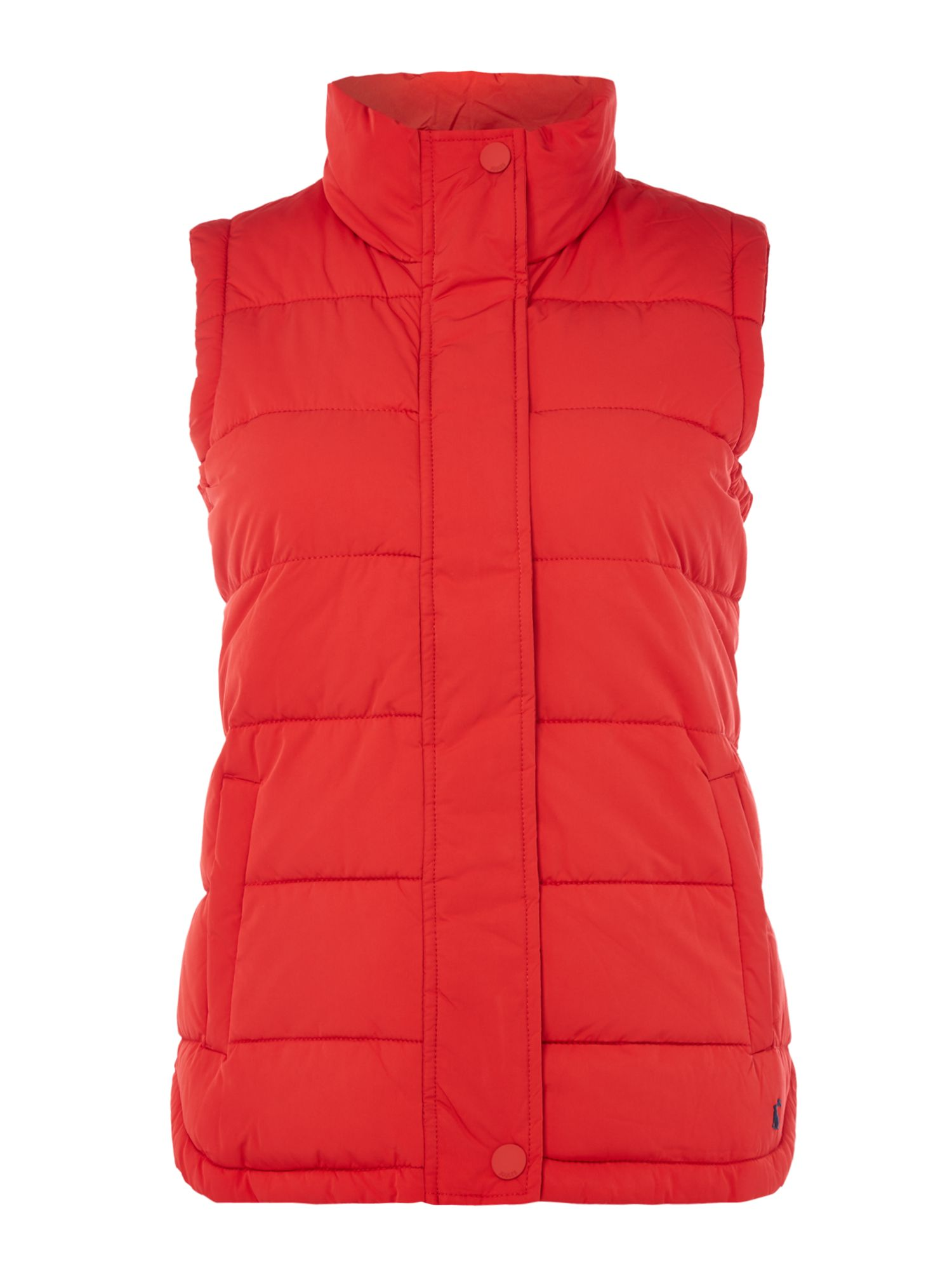 Joules Sleeveless padded gillet, Red