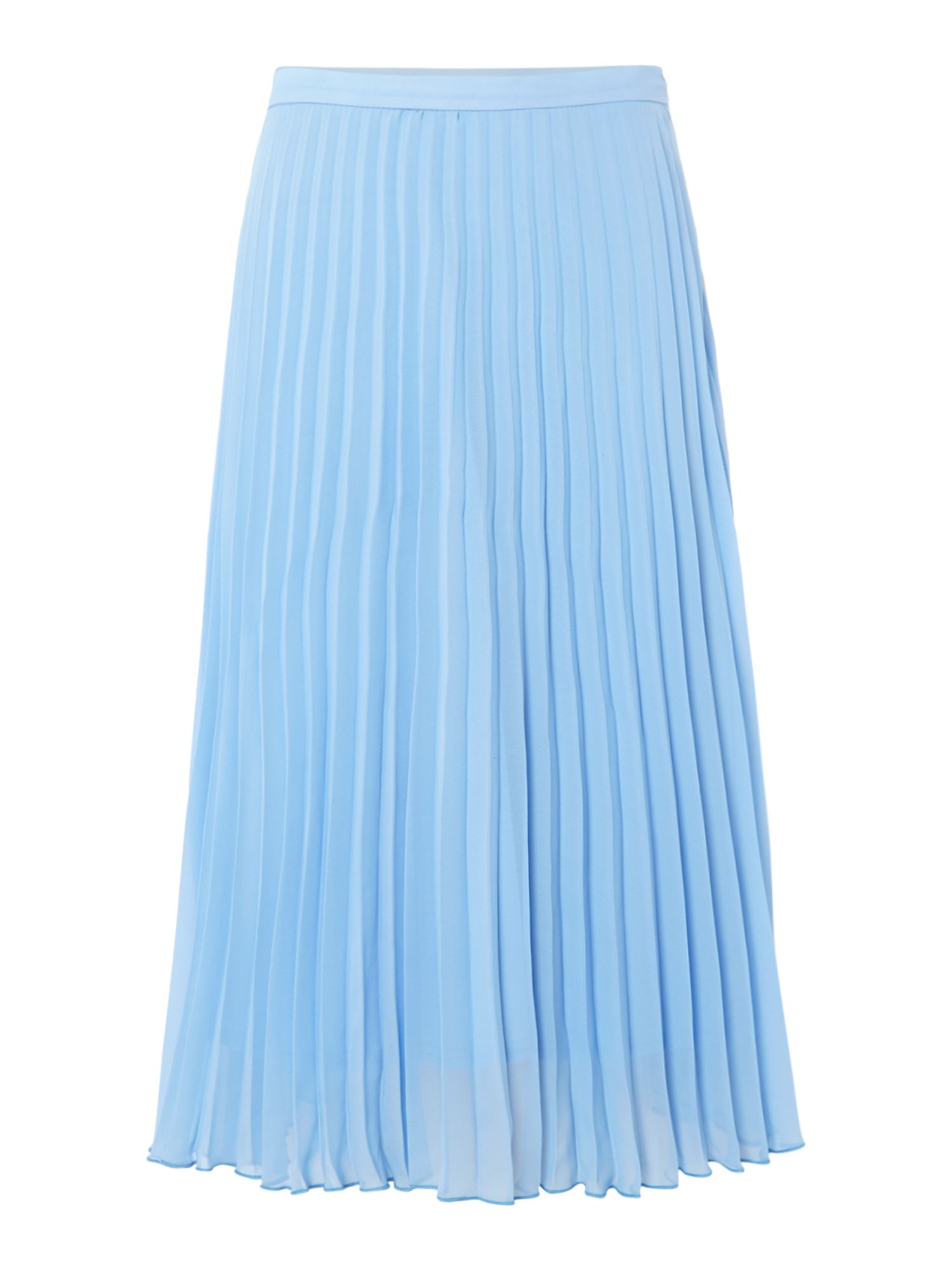 Jessica Wright Pleated midi skirt, Blue