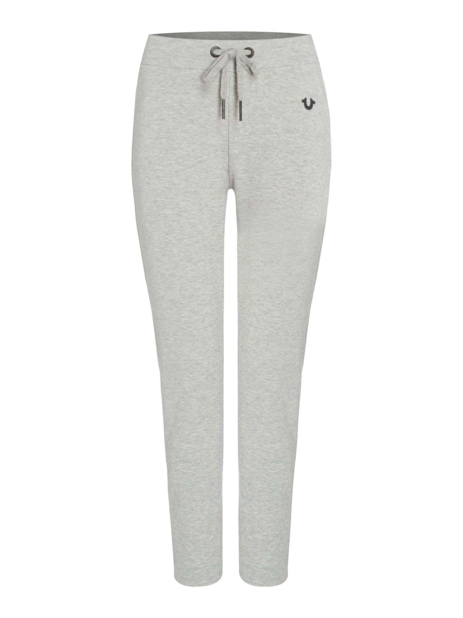 True Religion Track Pants With Metalic Detail, Grey