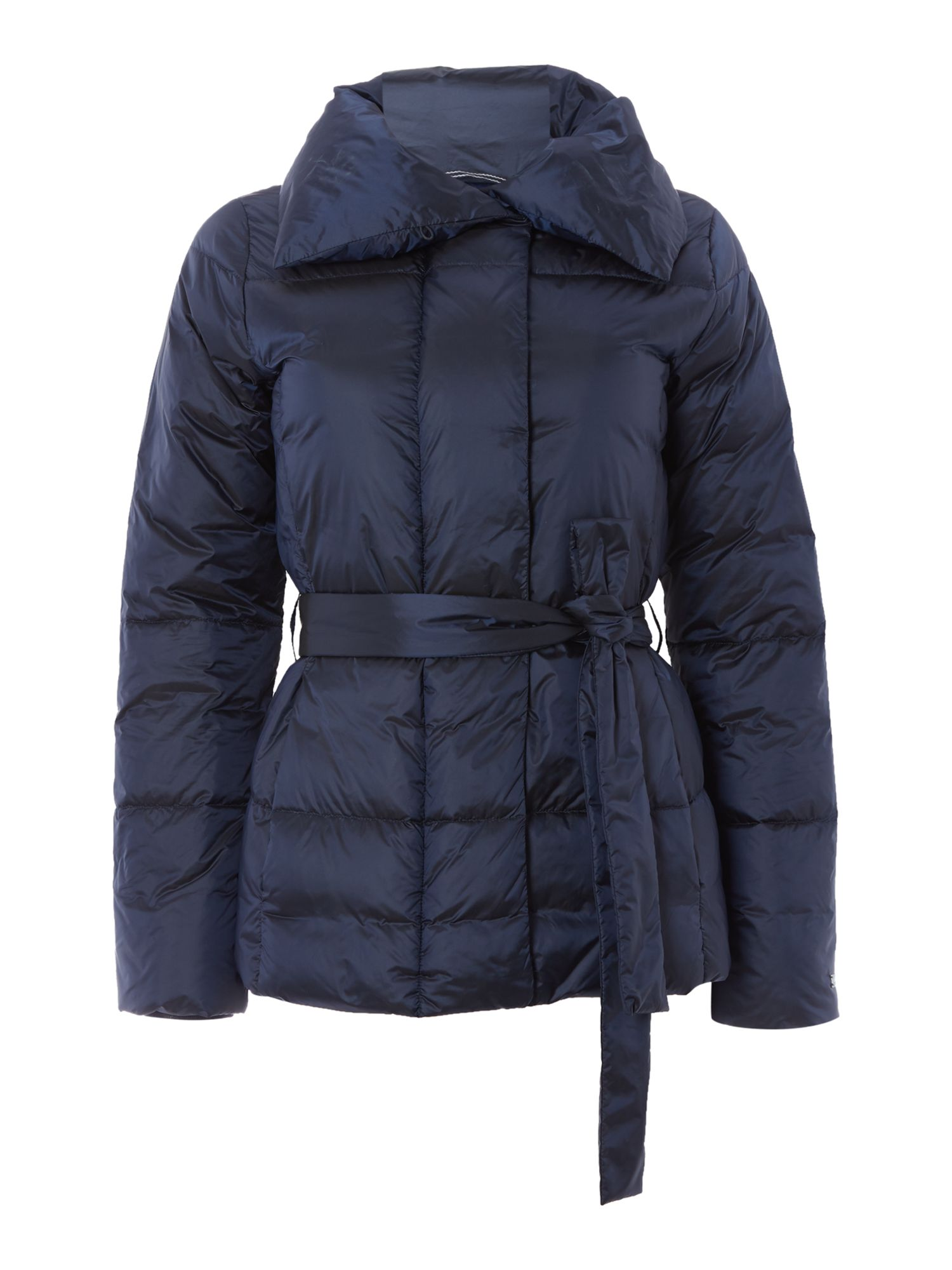 Gant Belted Down Jacket, Marine