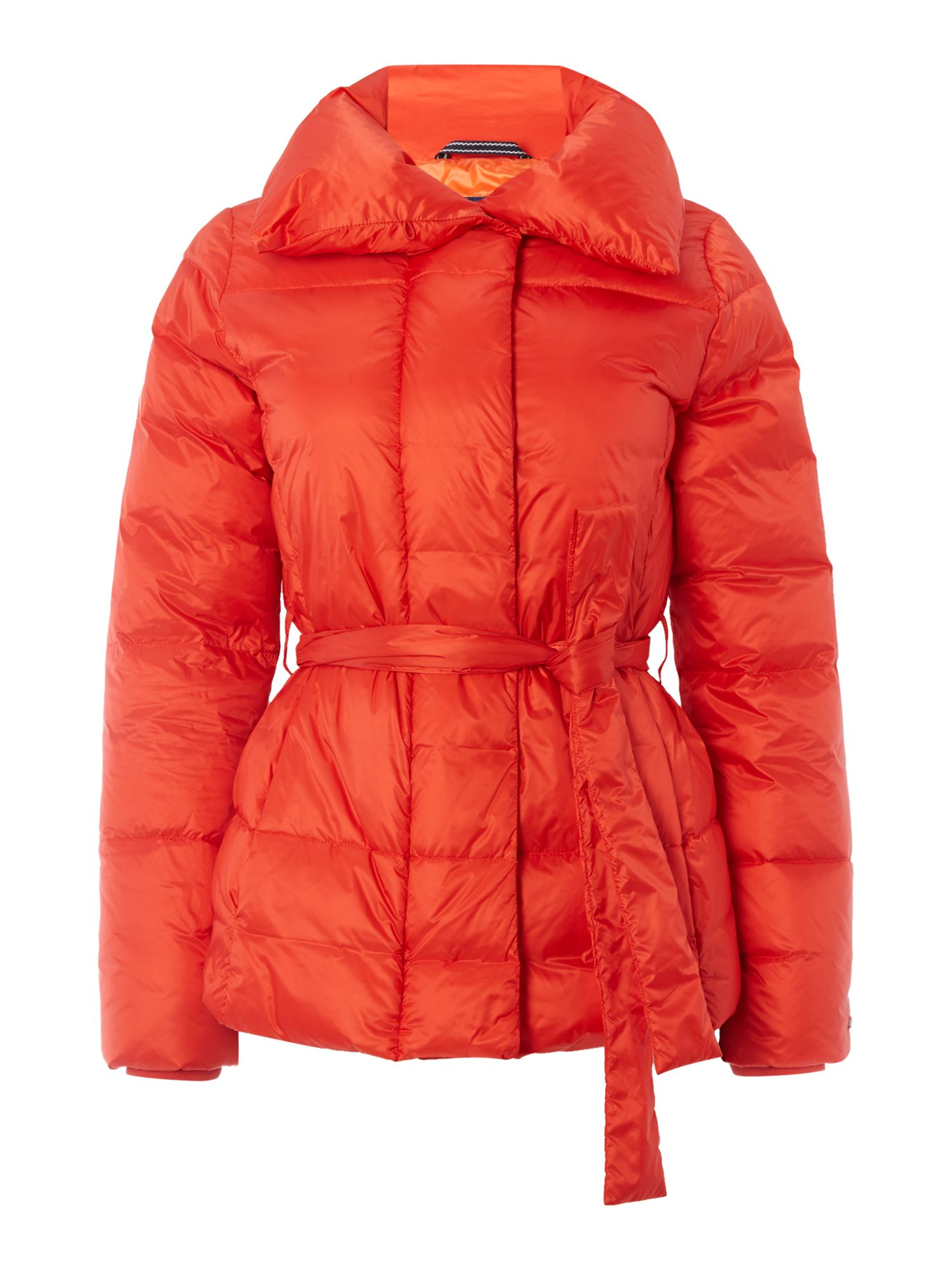 Gant Belted Down Jacket, Orange