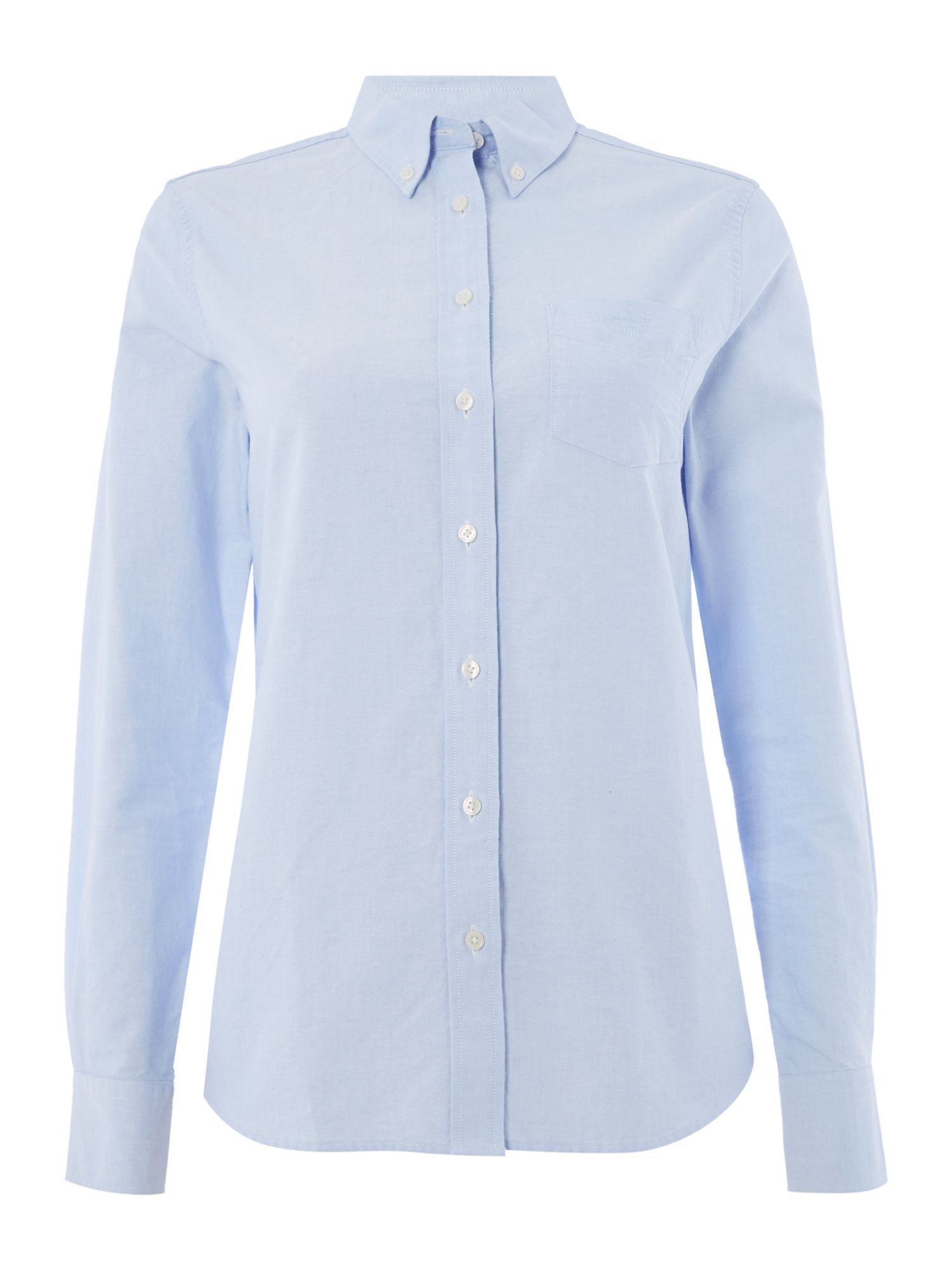 Gant The Perfect Oxford Shirt, Light Blue