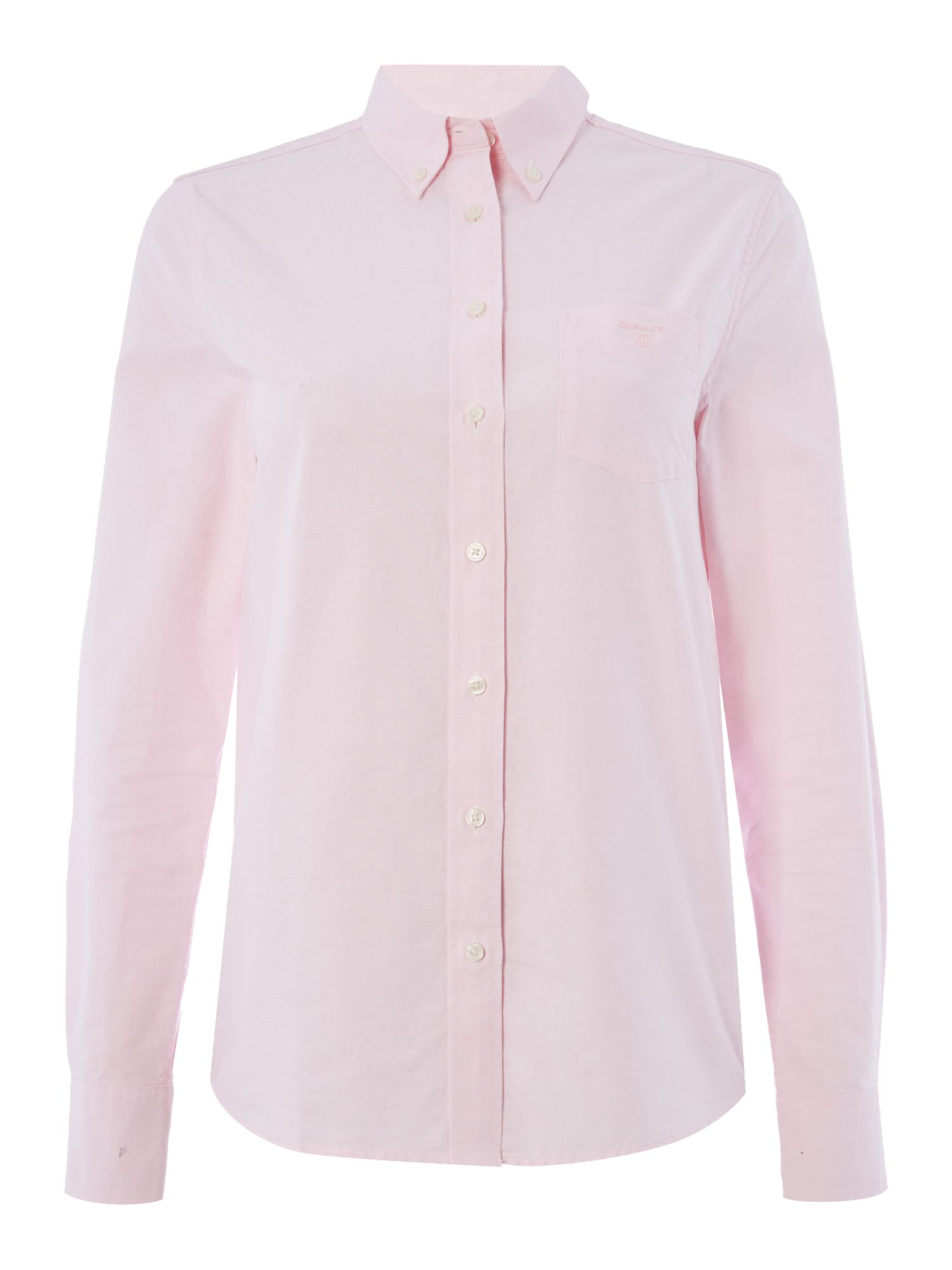 Gant The Perfect Oxford Shirt, Light Pink
