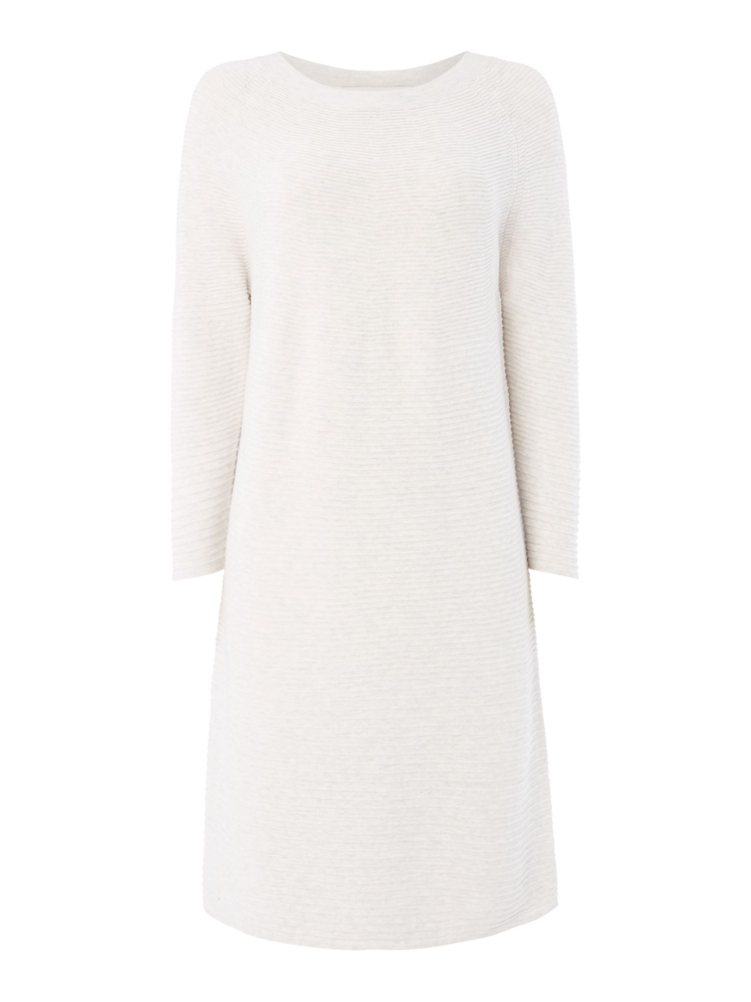 Oui Knitted dress, Off White