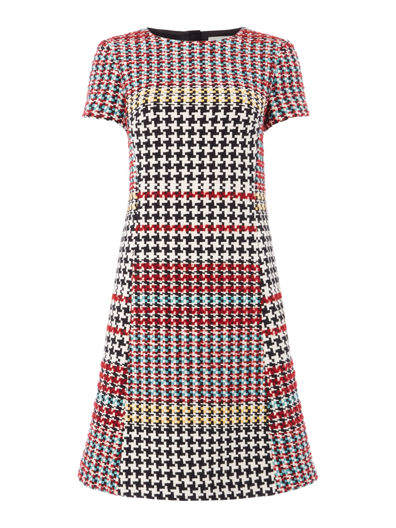 Oui Multi check dress, Check
