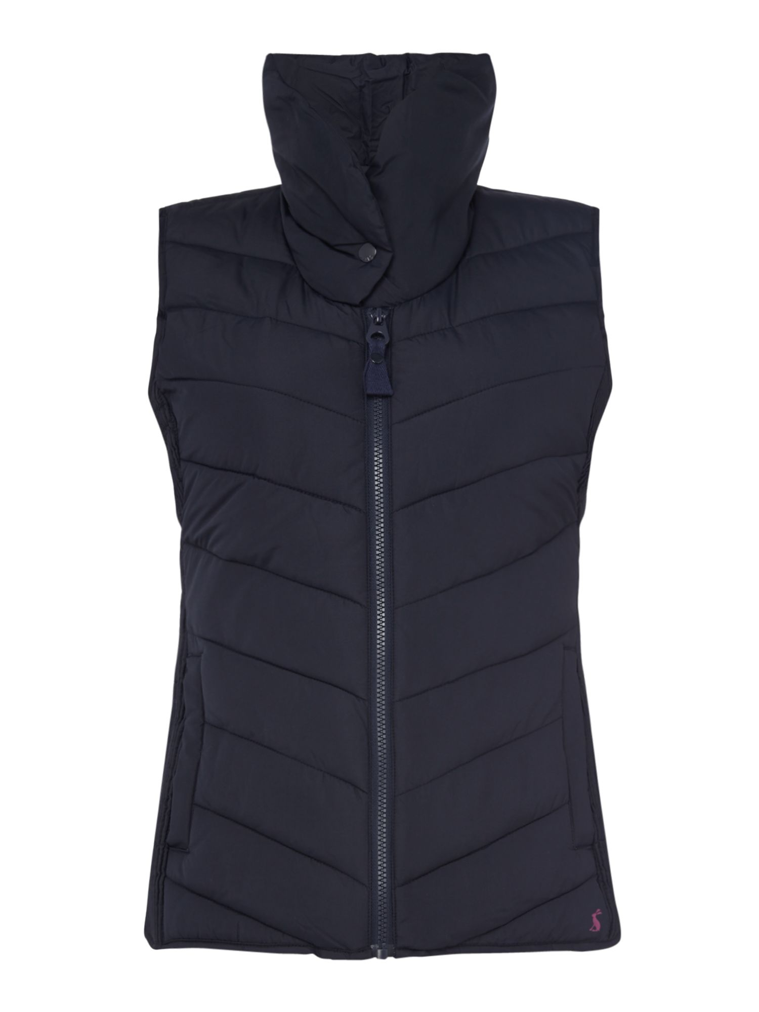 Joules Collared Padded Gilet, Marine