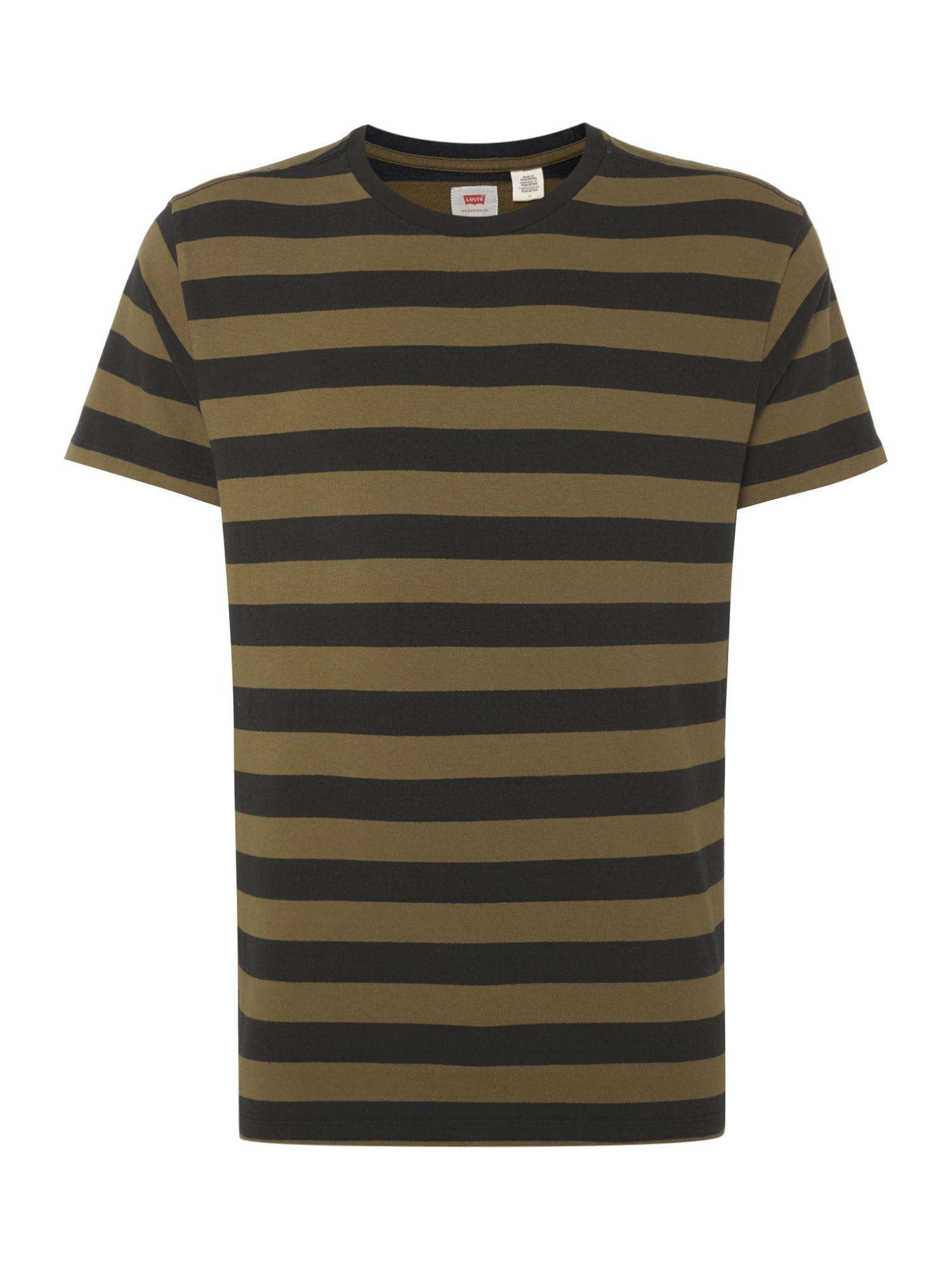 Men's Levi's Bass stripe mighty t-shirt, Olive