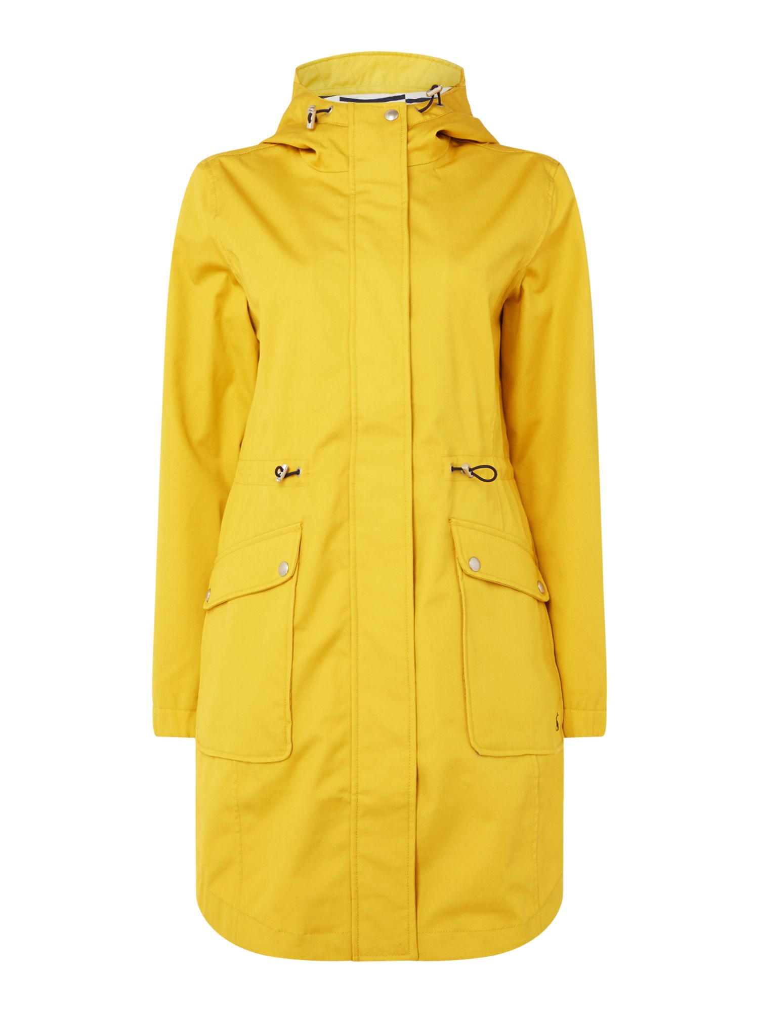 Joules Waterproof gooded parka, Antique Gold