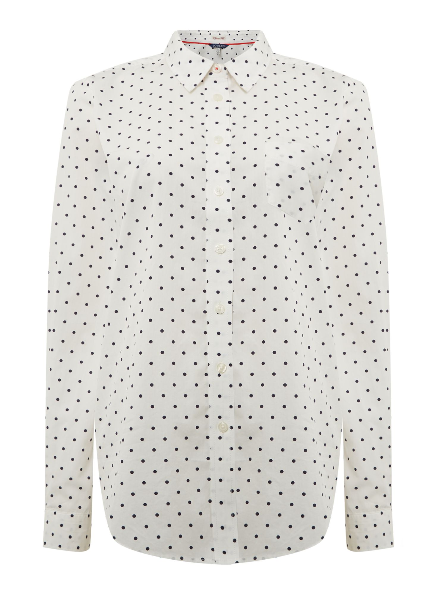 Joules Classic fit shirt, Cream