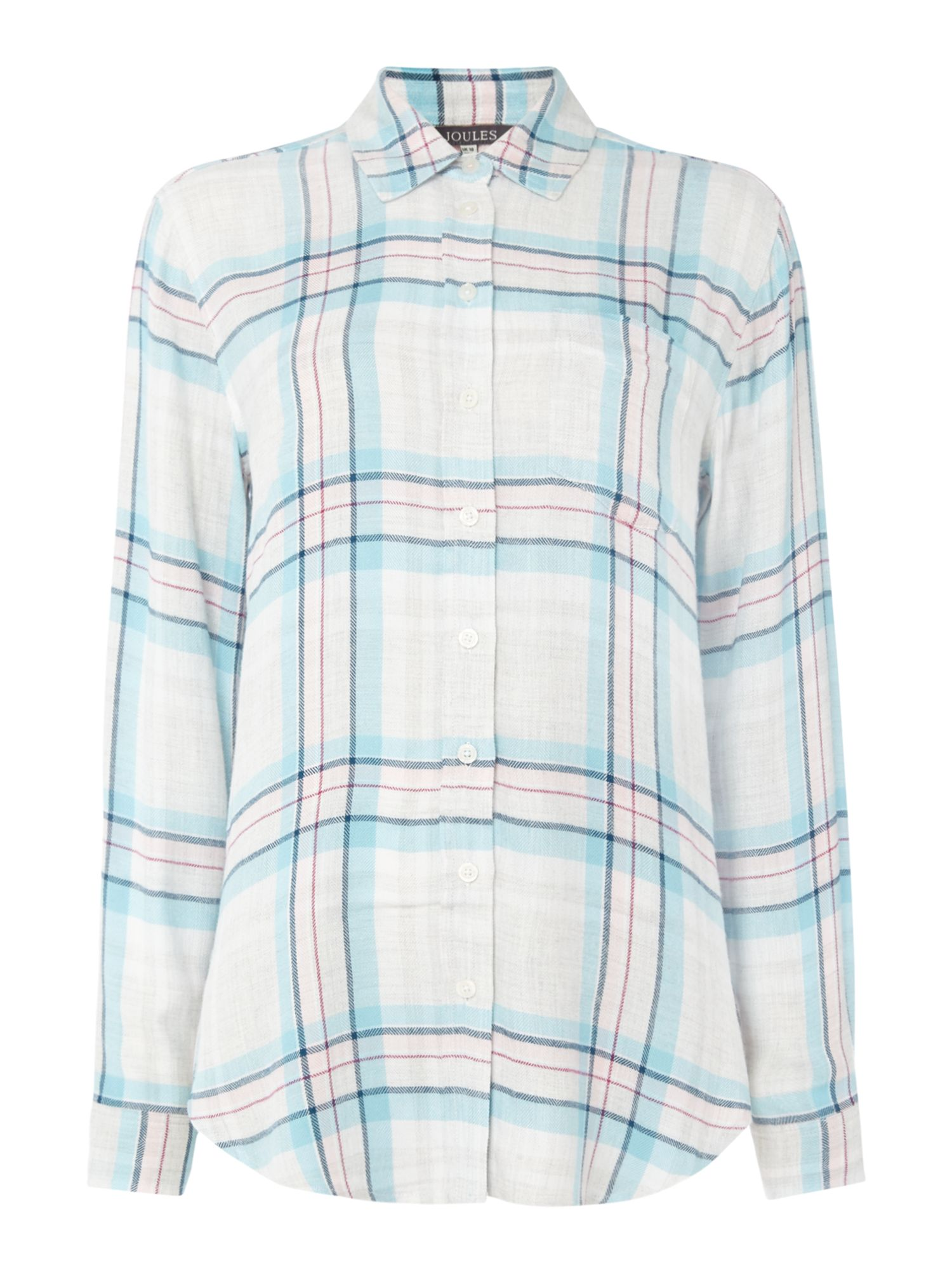 Joules Long line shirt, Multi-Coloured