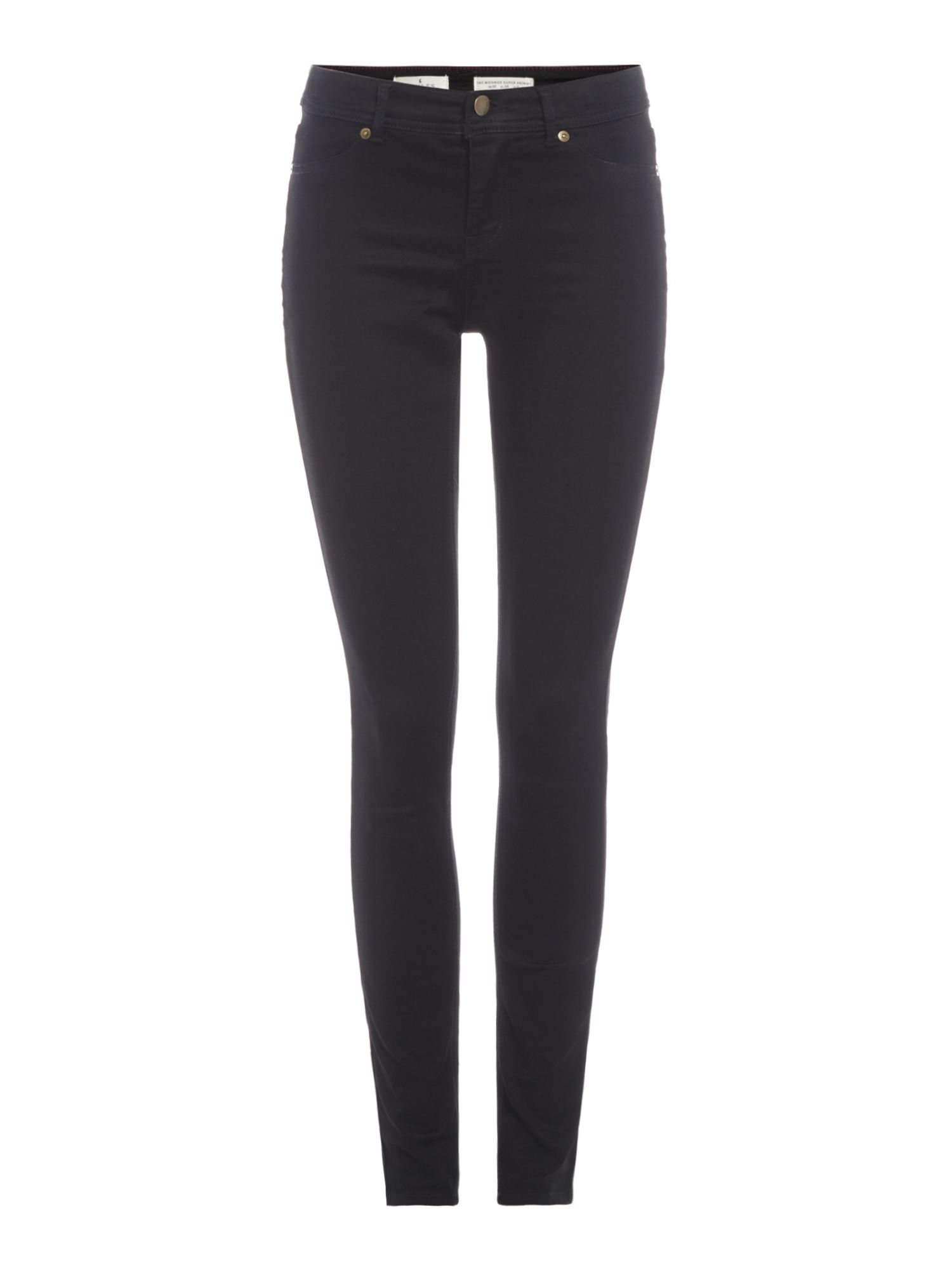Joules Skinny stretch jeans regular waist, Black