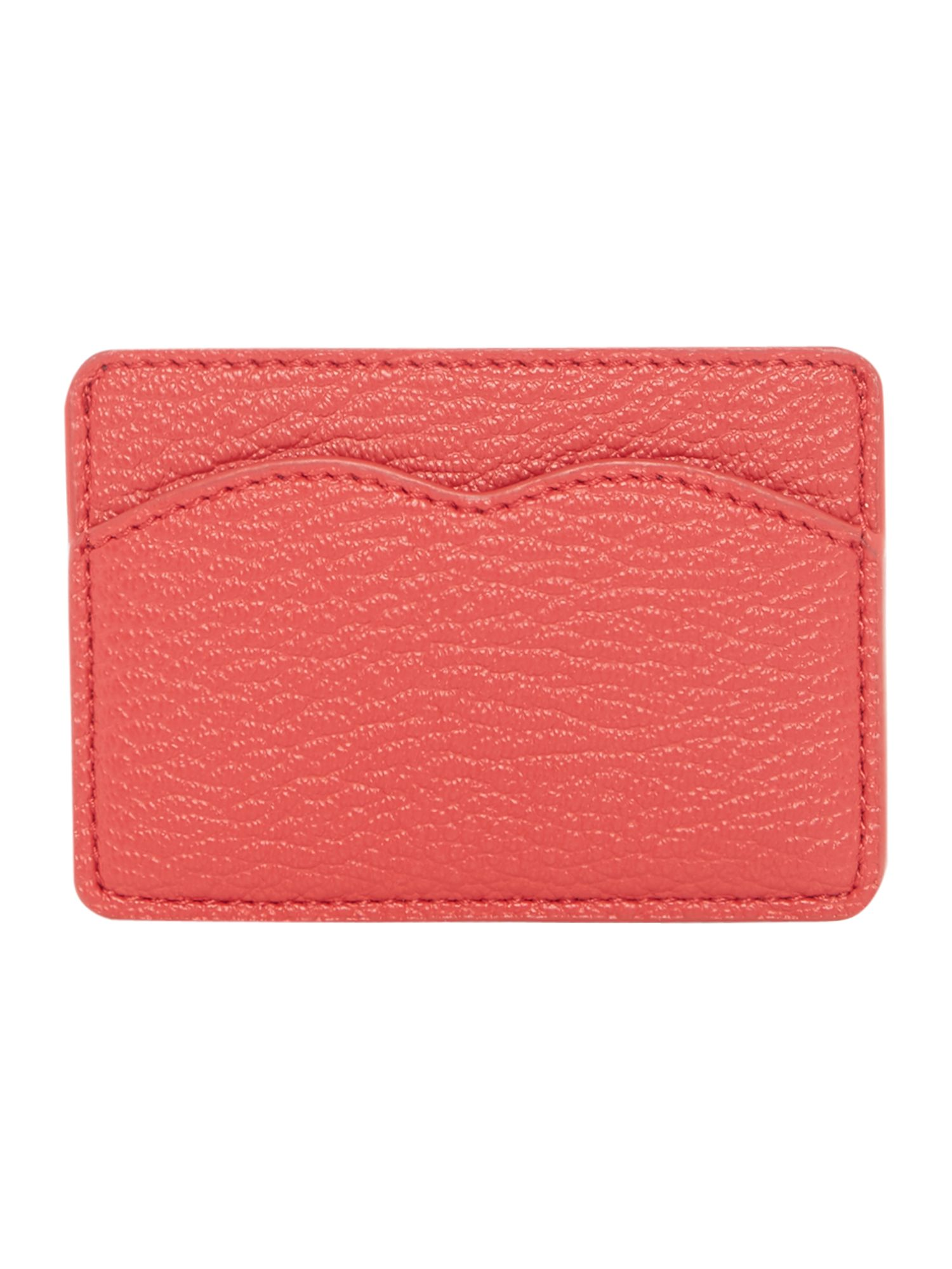 Lulu Guinness Cupid bow cardholder, Red