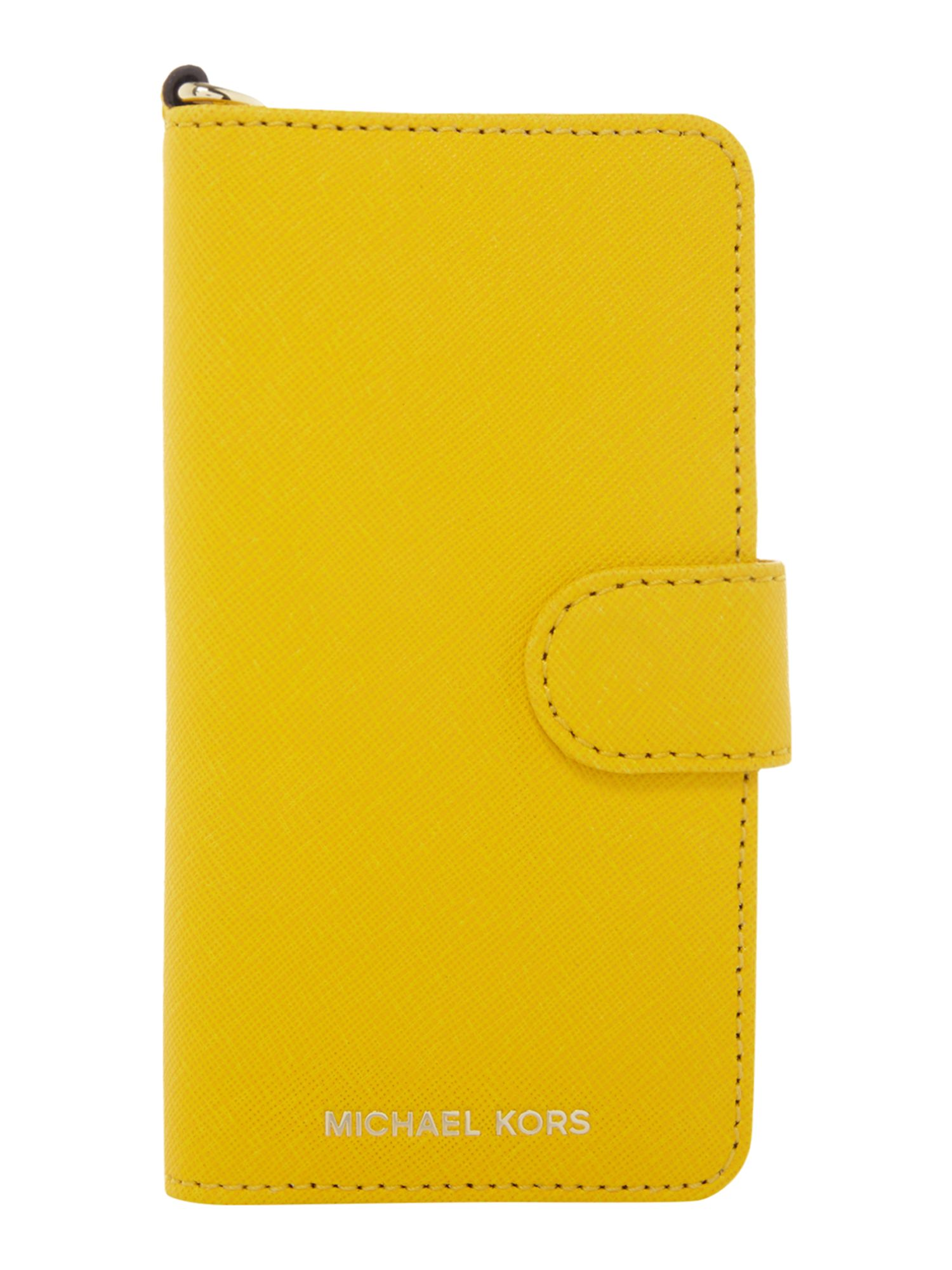 Michael Kors Iphone 7 phone cover, Yellow.
