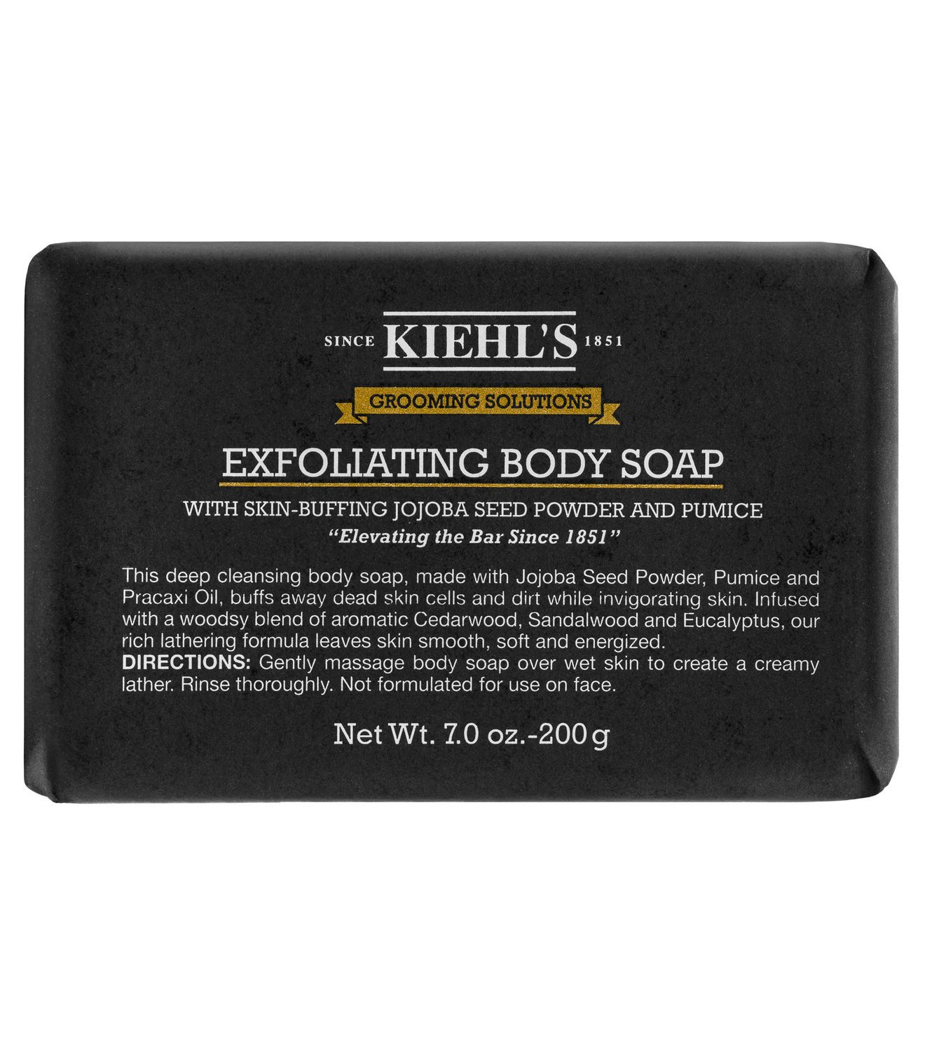 Kiehls Grooming Solutions Bar Soap 200g