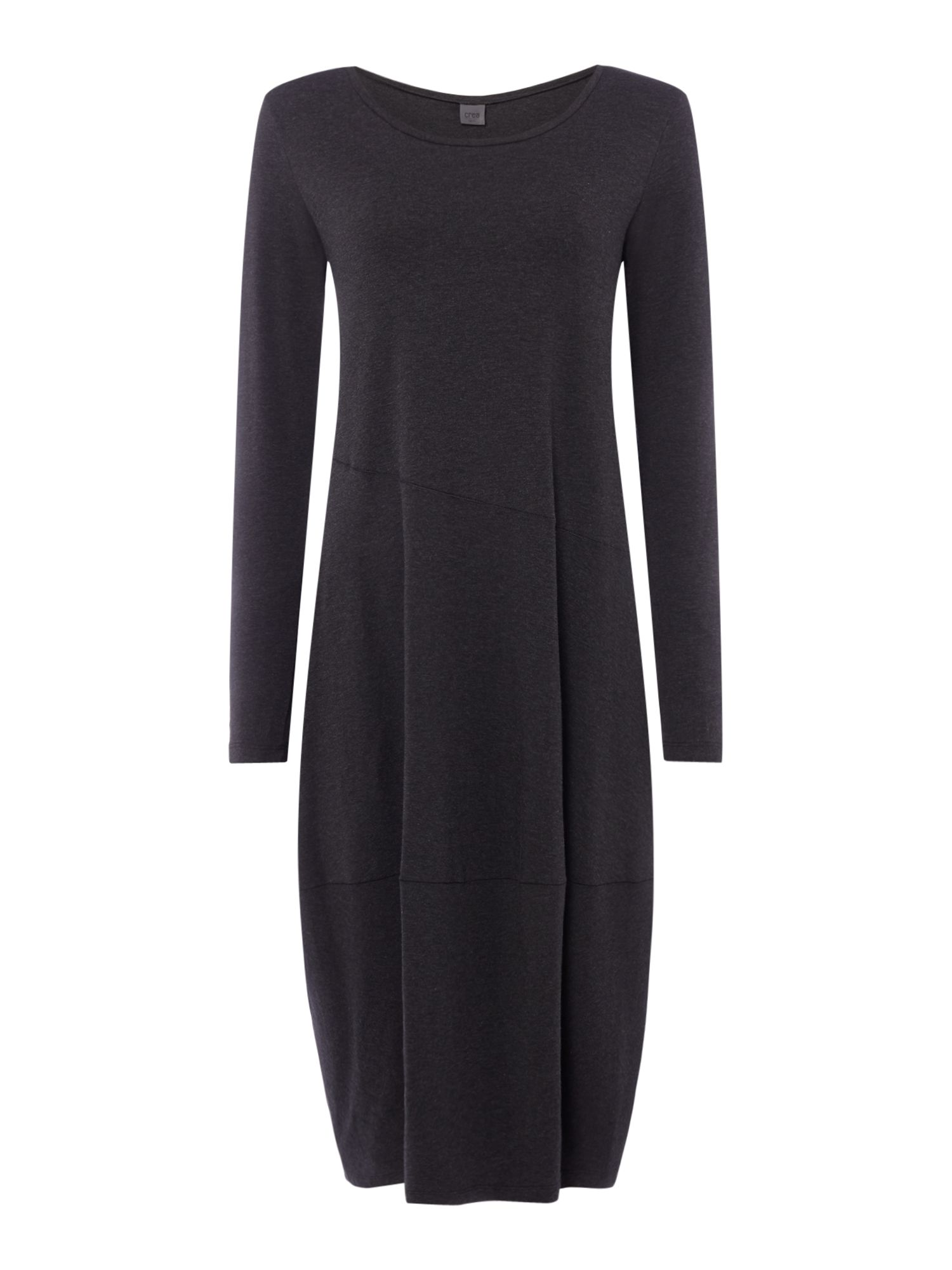 Crea Concept Dress with seam detail, Dark Grey