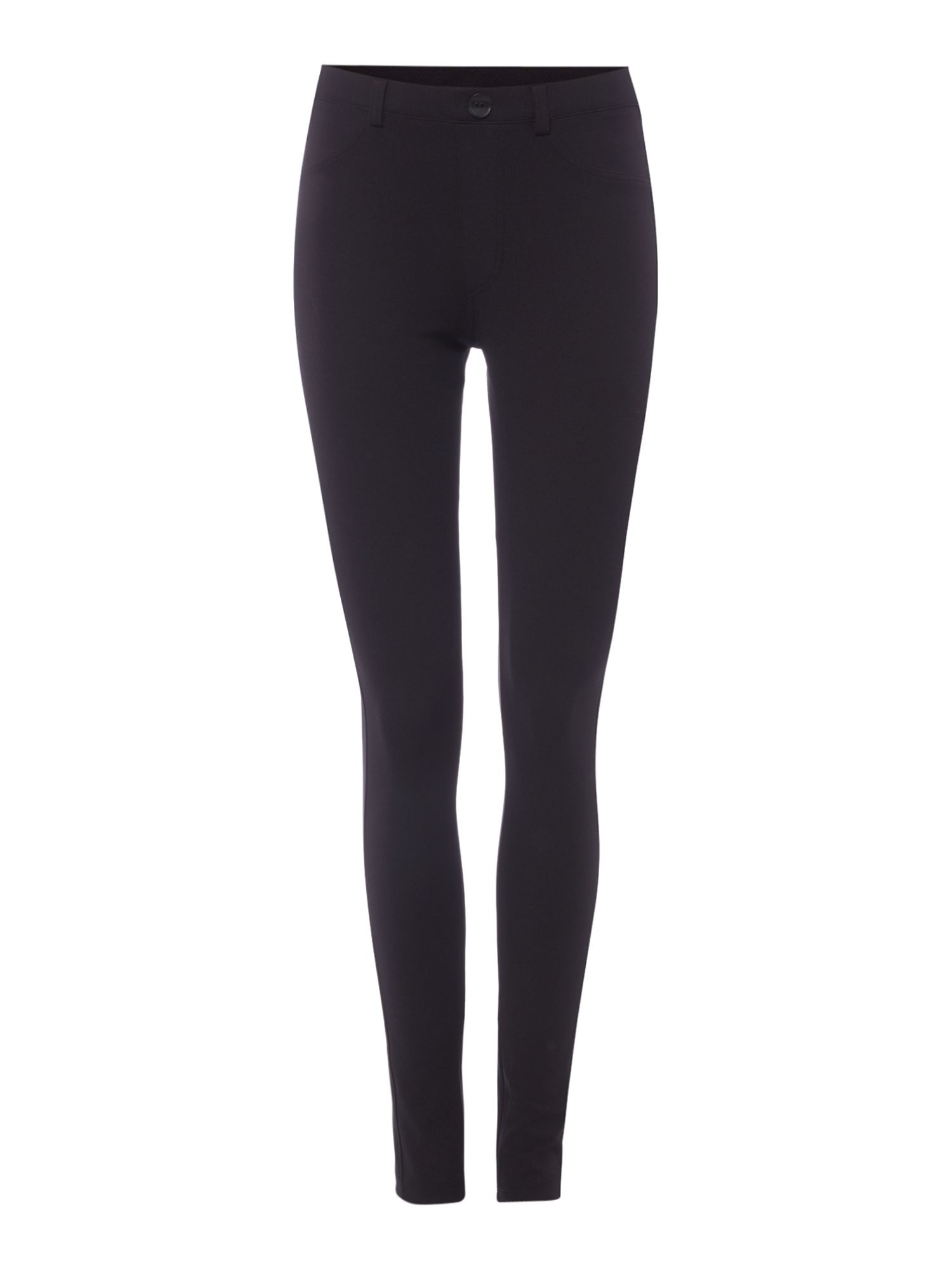 Crea Concept Skinny fitted trousers, Black