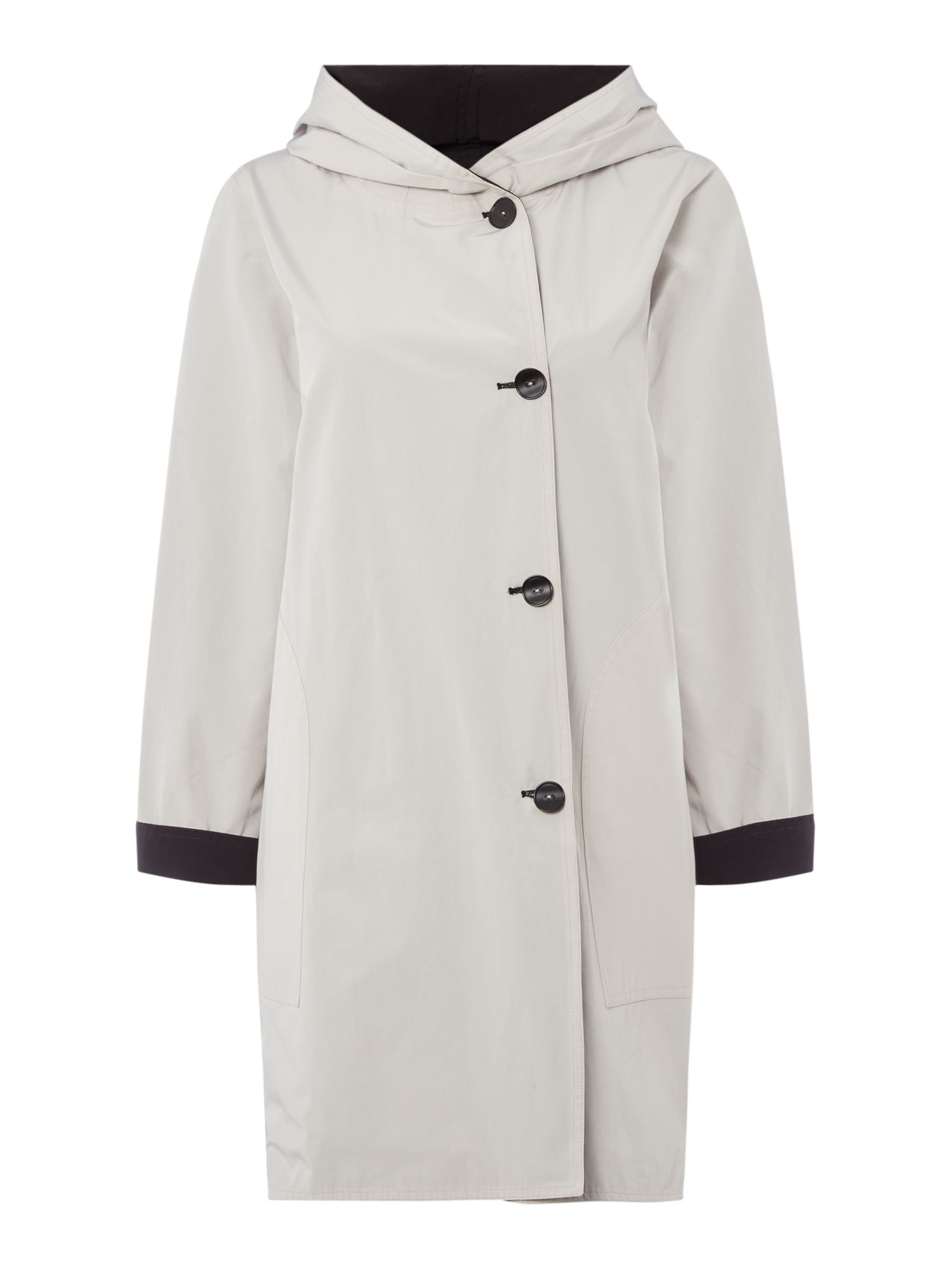 Crea Concept Reversible coat, Cream