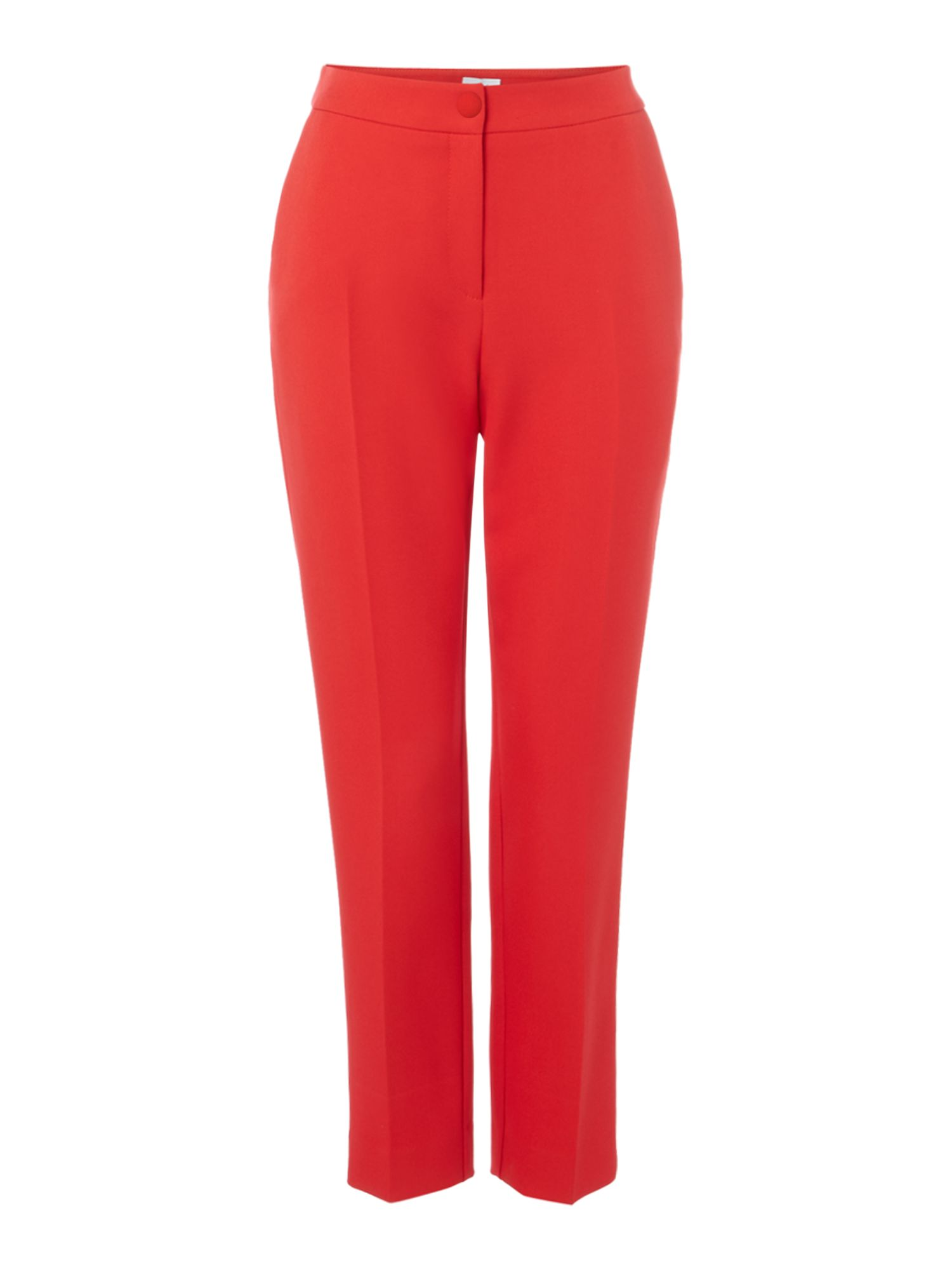 Linea Pippa level hem trouser, Red