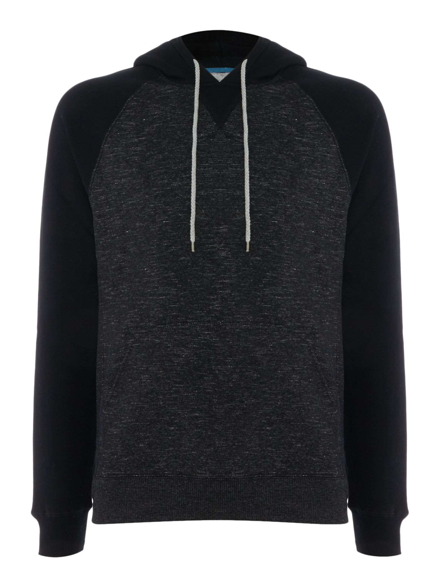 Men's Billabong Brushed Fleece Slub Hooded Pullover, Black