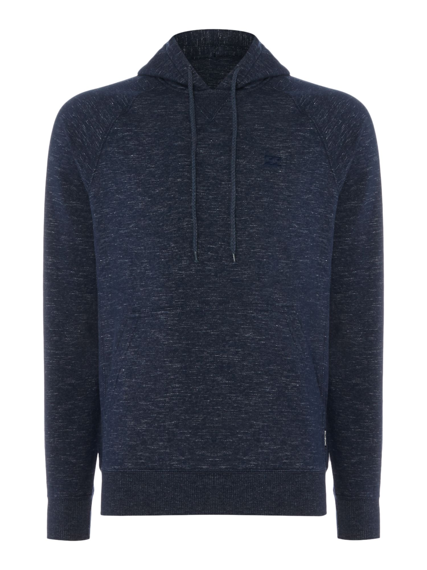 Men's Billabong Brushed Fleece Slub Hooded Pullover, Blue