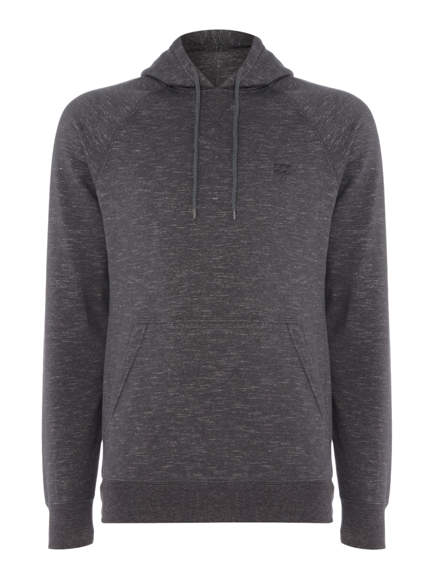 Men's Billabong Brushed Fleece Slub Hooded Pullover, Grey