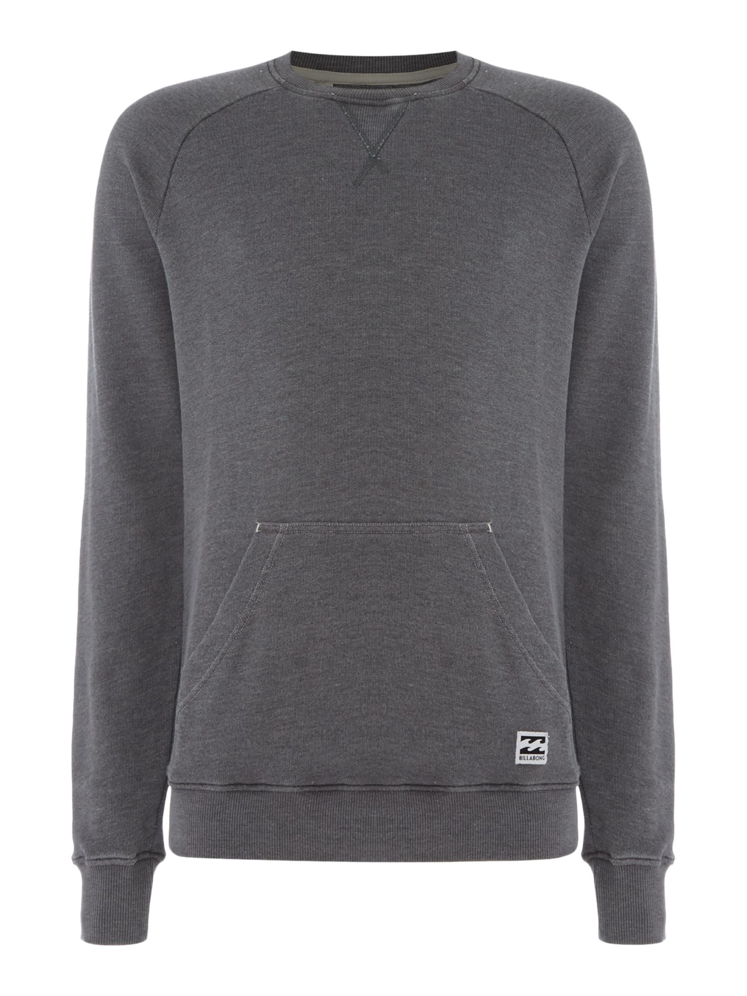 Men's Billabong Unbrushed Vintage Fleece, Grey