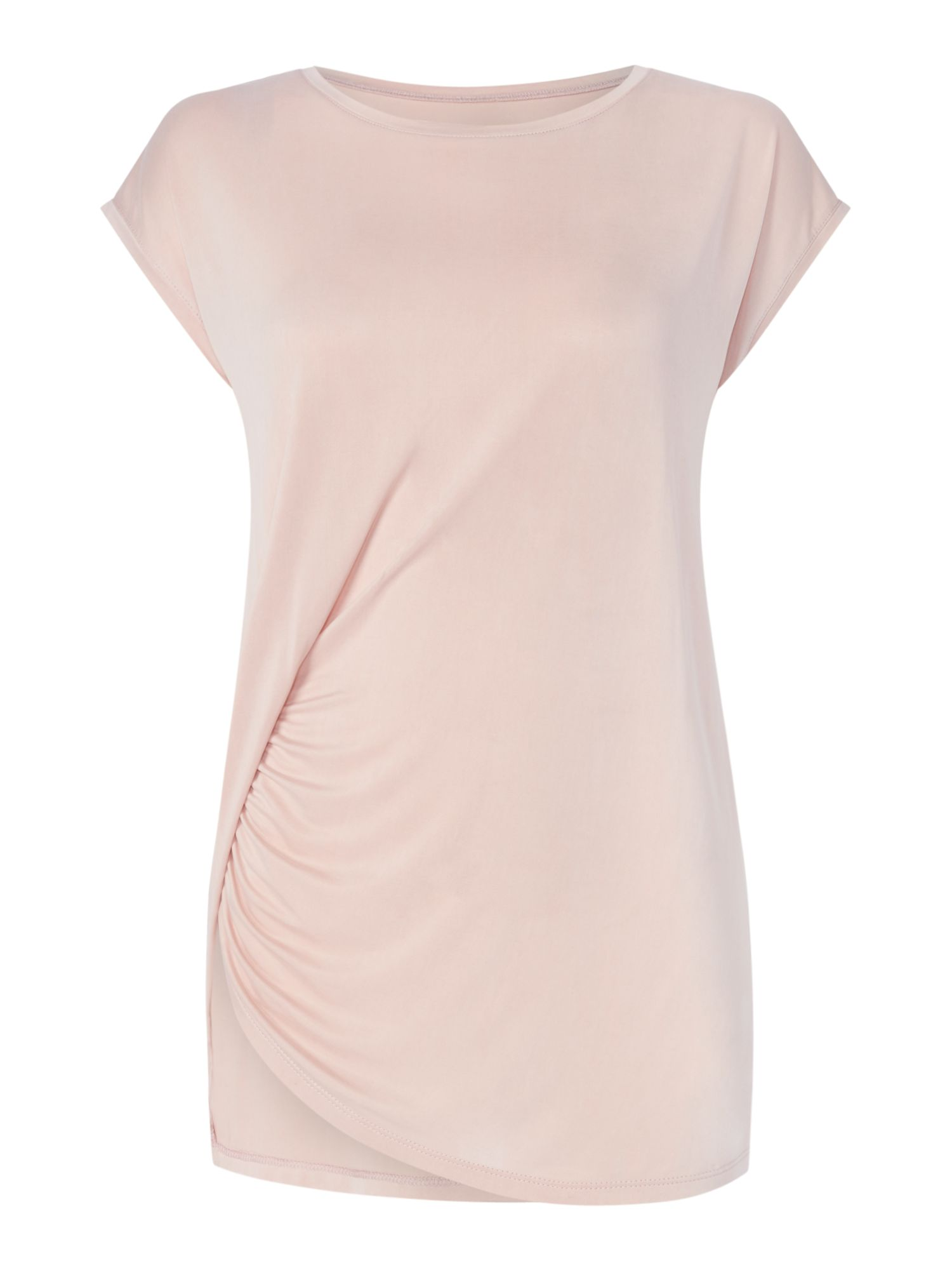 Label Lab Cupro Hitch Side Top, Pink