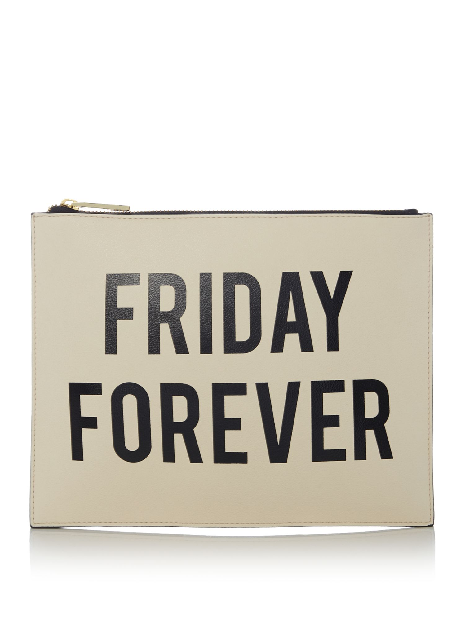 Therapy Friday forever pouch, Black