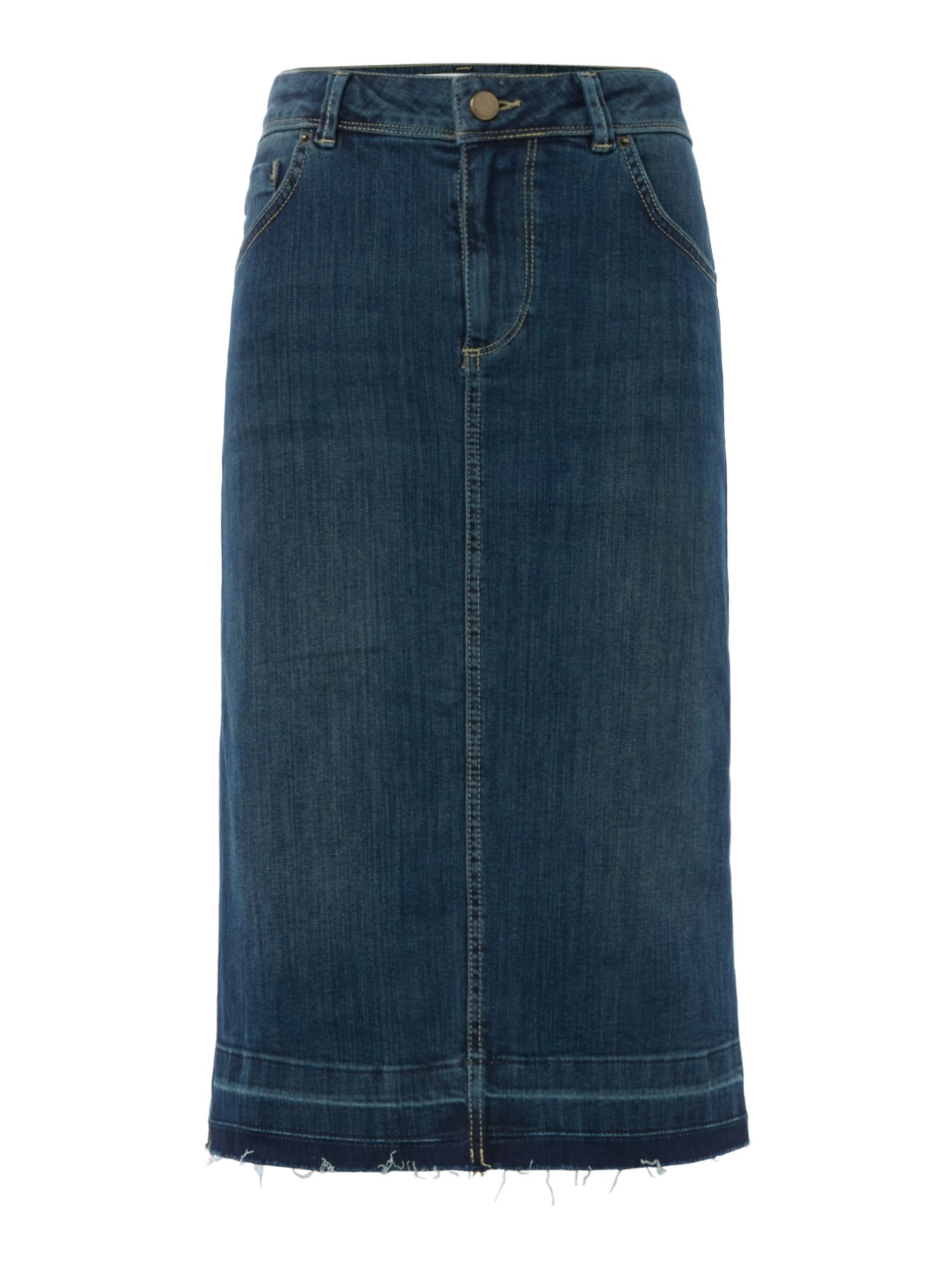 Maison De Nimes Limoges Denim Skirt, Denim Vintage