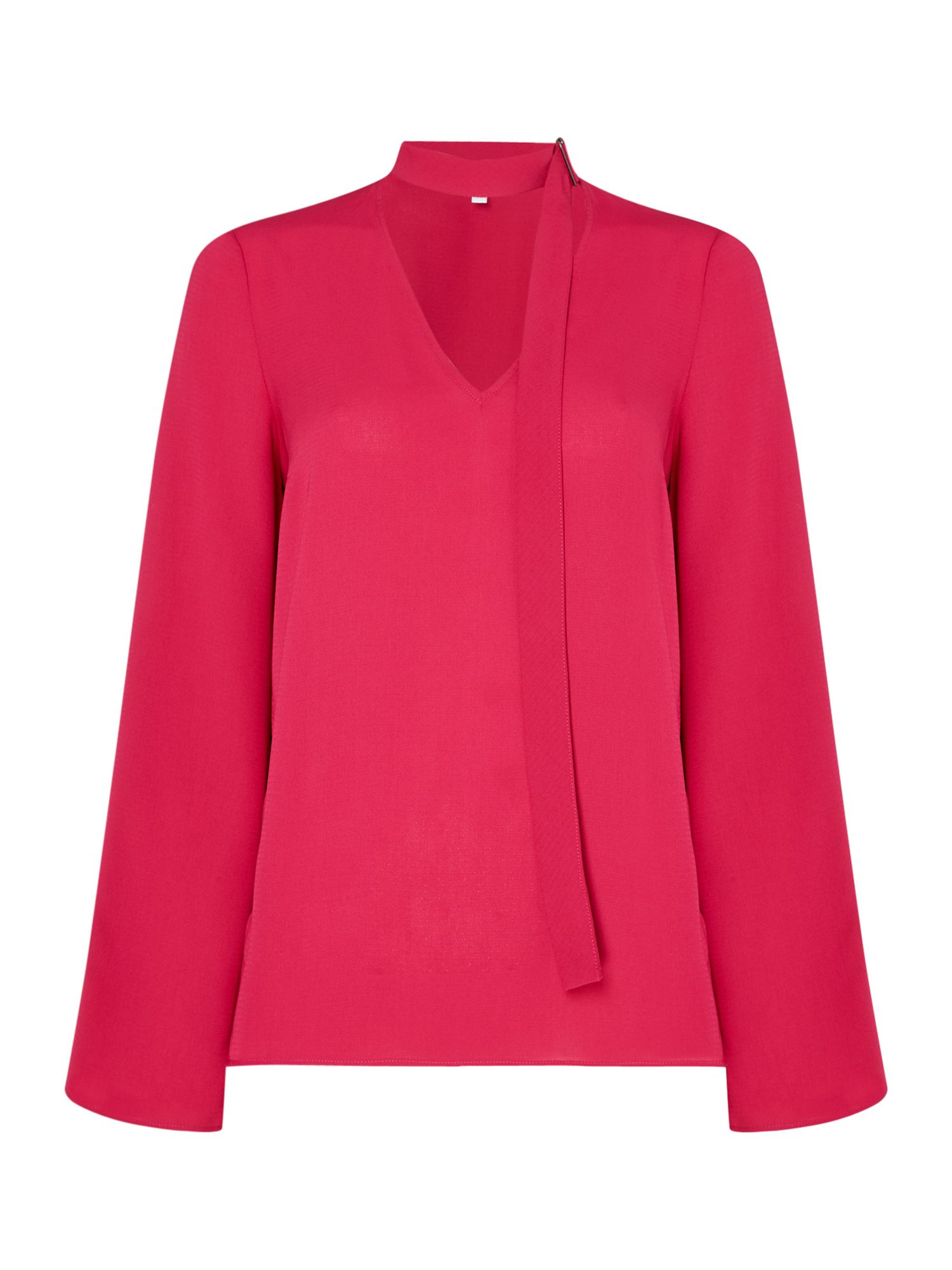 Linea Bel d ring blouse, Raspberry