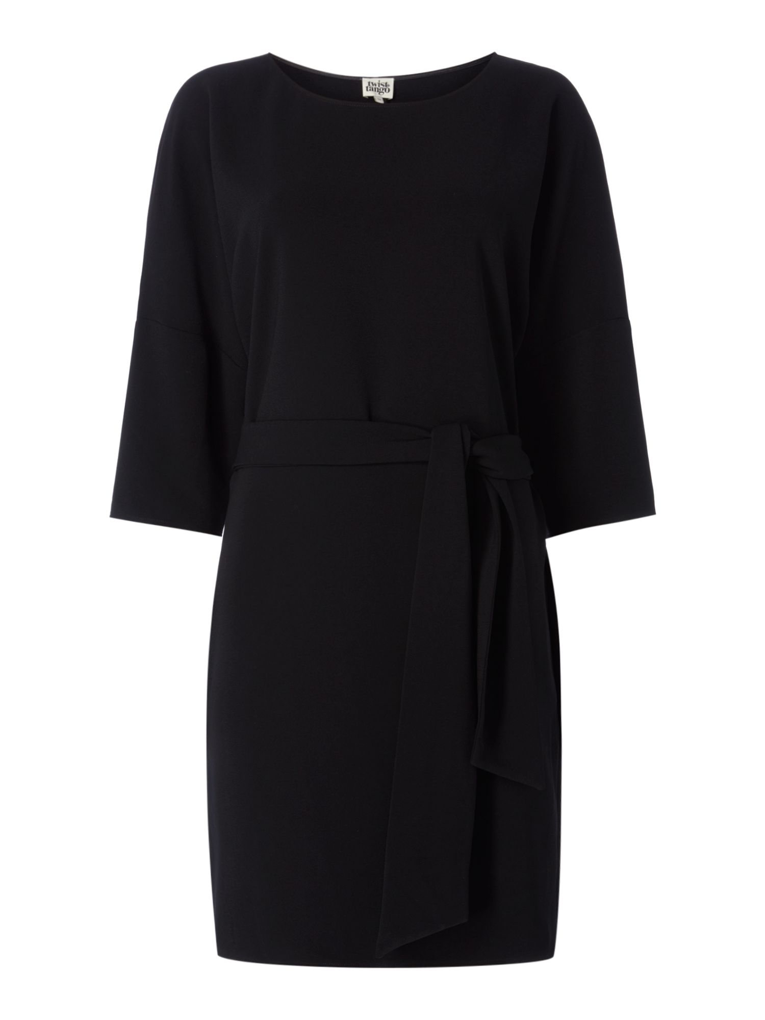 Twist and Tango Nicky Tie Waist Dress, Black