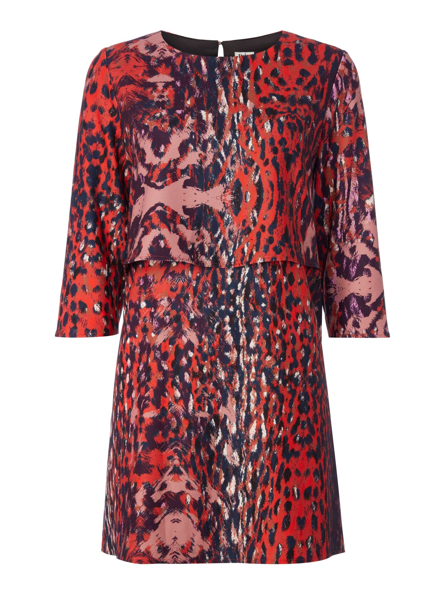 Twist and Tango Sasha Leopard Print Dress, Multi-Coloured