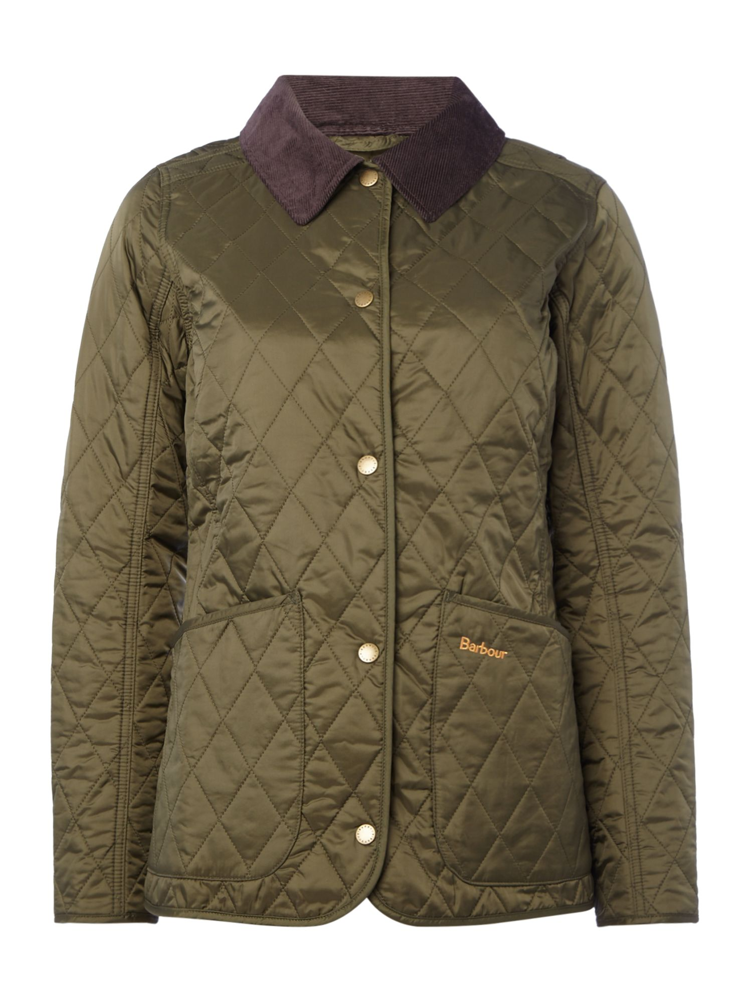 Barbour Annandale Quilted Jacket, Olive