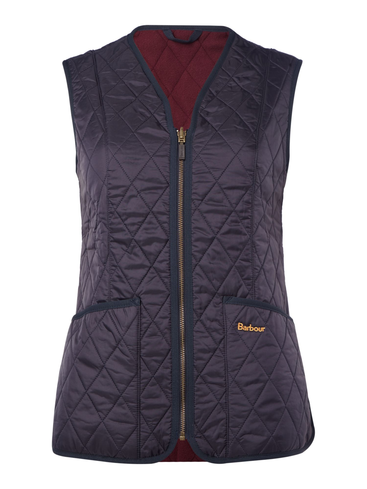 Barbour Betty Fleece Gilet, Blue