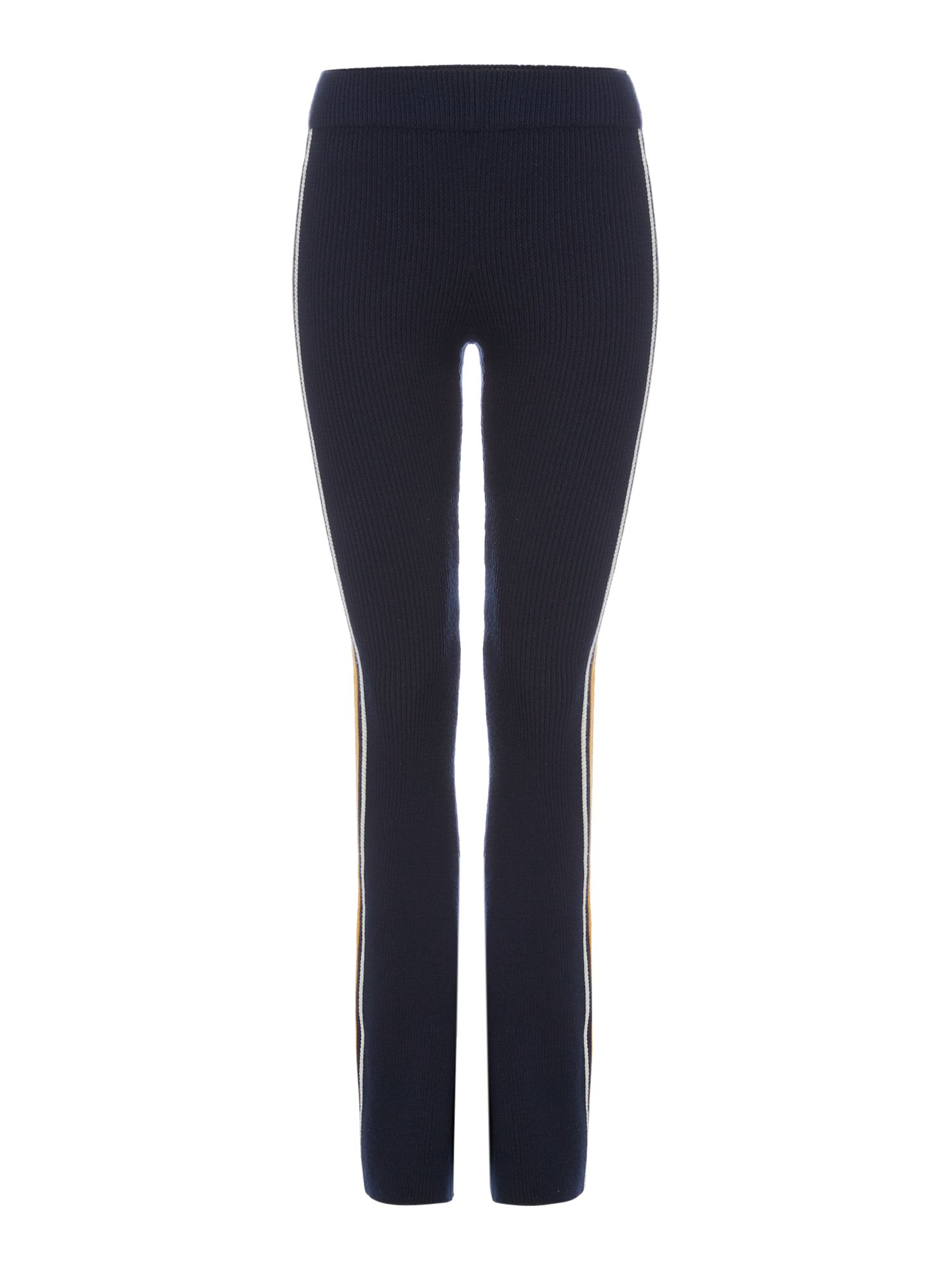 Another Label Dune knitted trouser, Blue