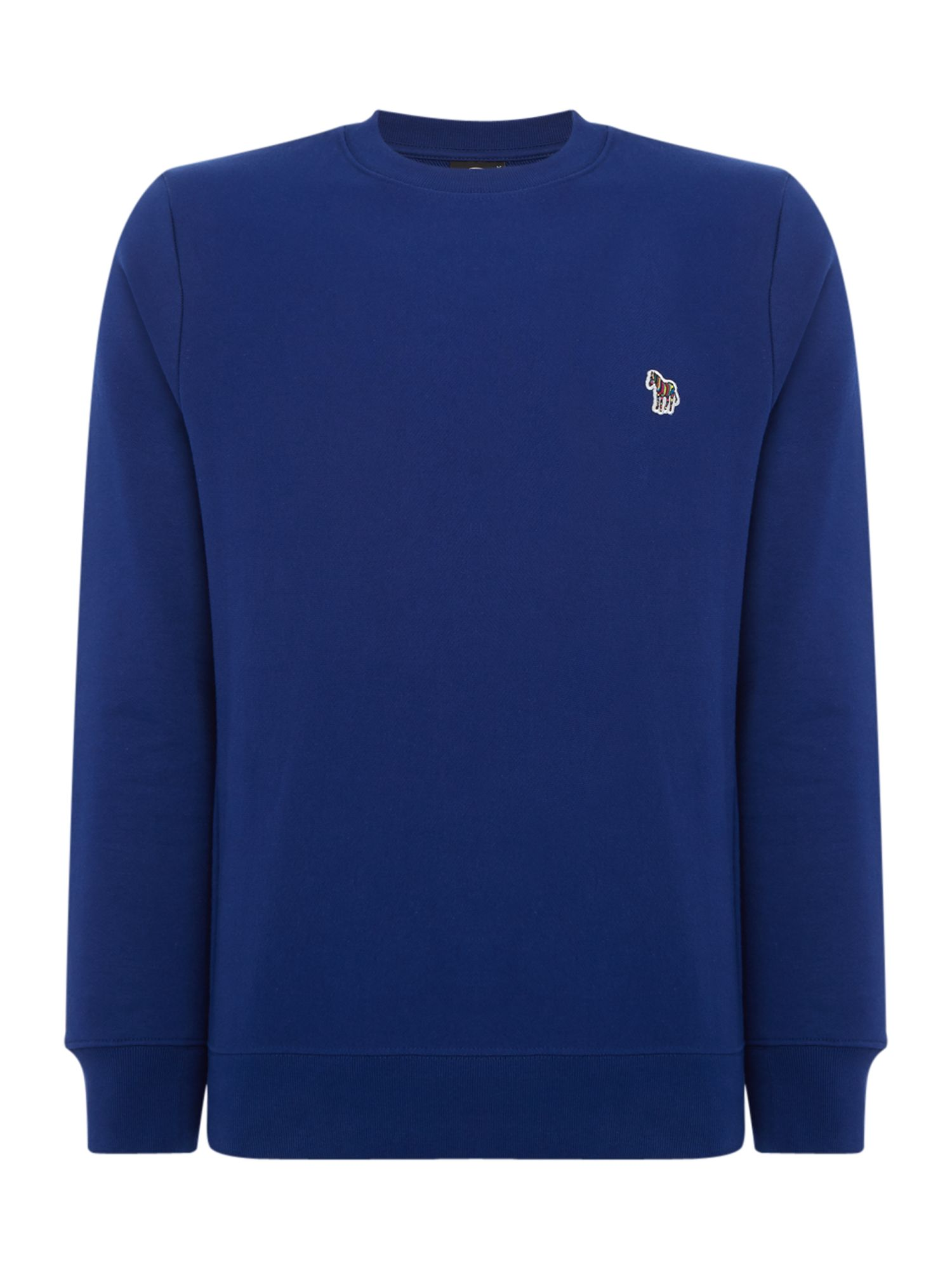 Men's PS By Paul Smith Zebra Logo Sweatshirt, Cobalt