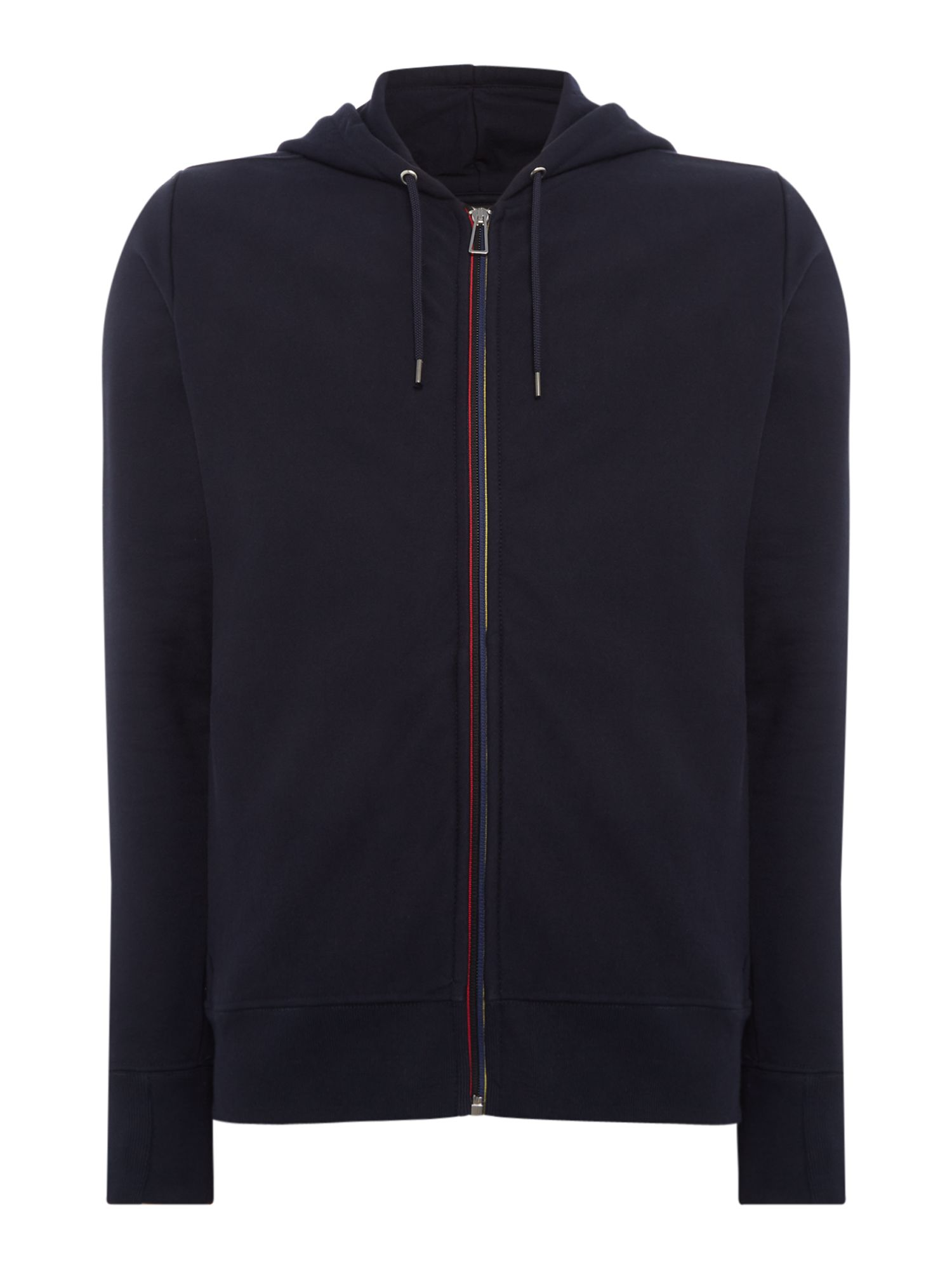 Men's PS By Paul Smith Detailed Zip Through Sweatshirt, Blue
