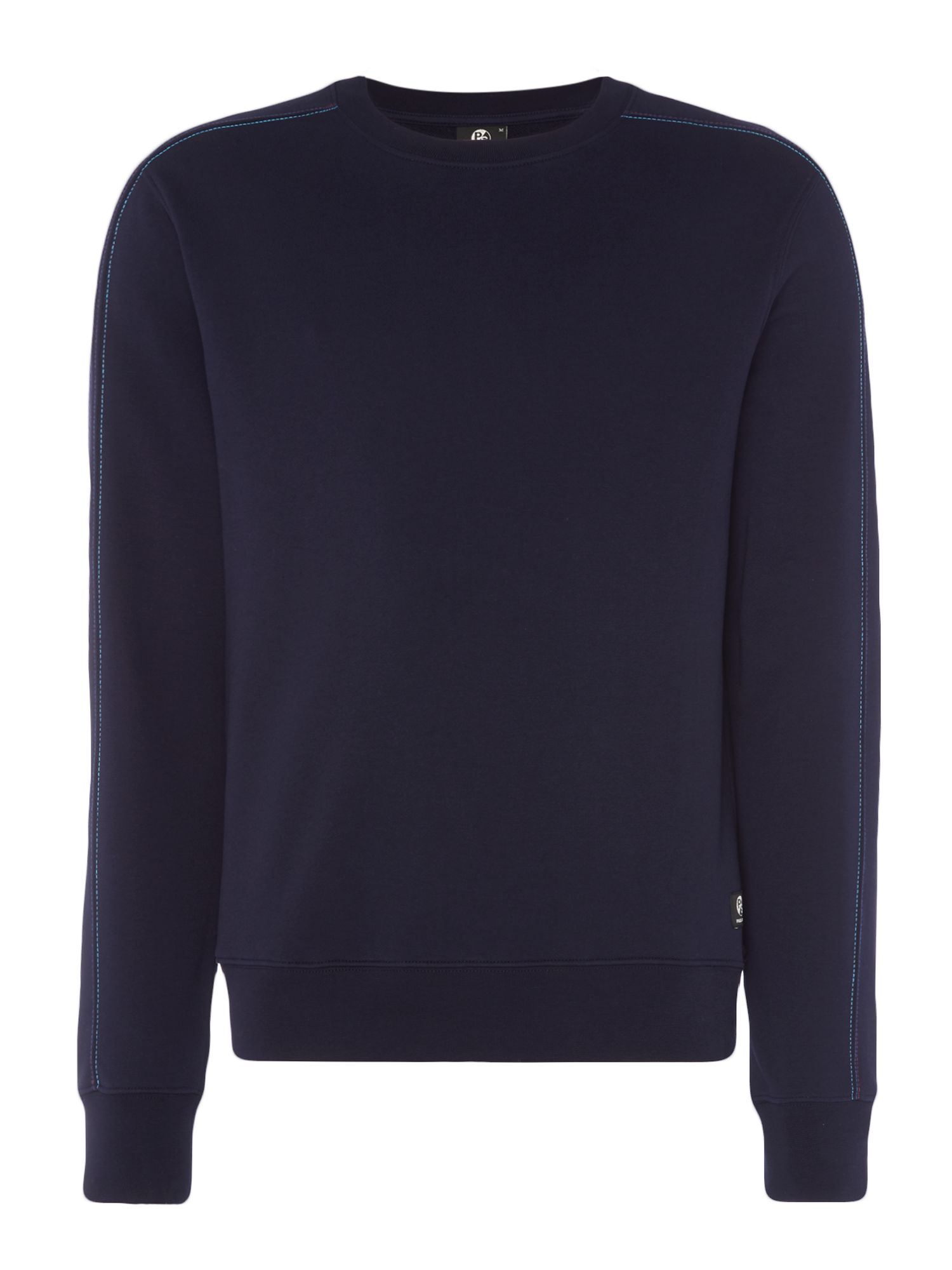 Men's PS By Paul Smith Contrast Stitch Sweatshirt, Blue