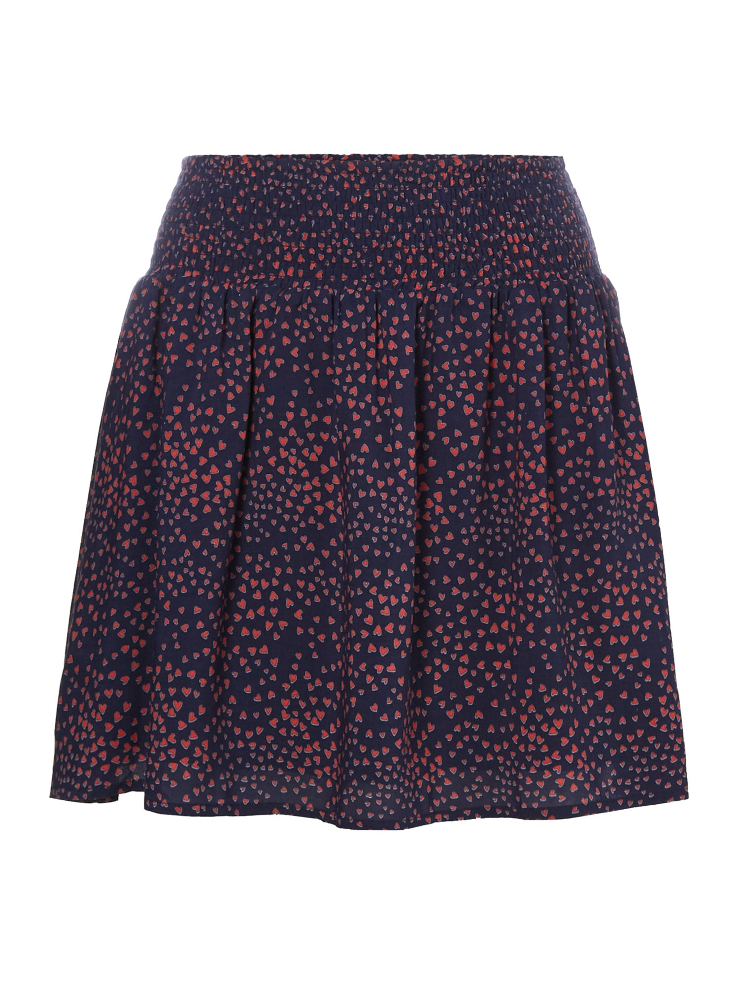 Another Label Ellis heart skirt, Blue