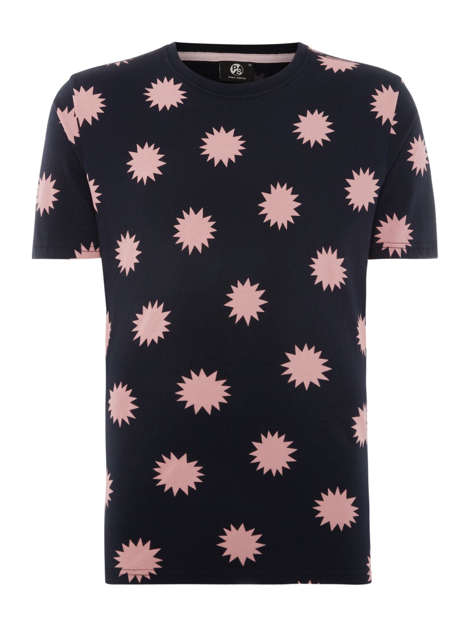 Men's PS By Paul Smith Star Print T-Shirt, Blue