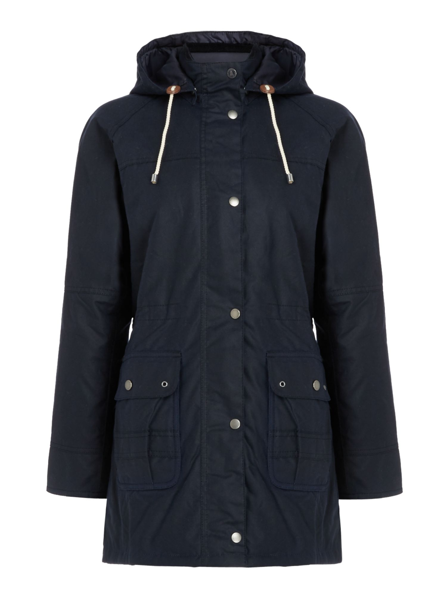 Barbour Seaton Wax Jacket, Blue