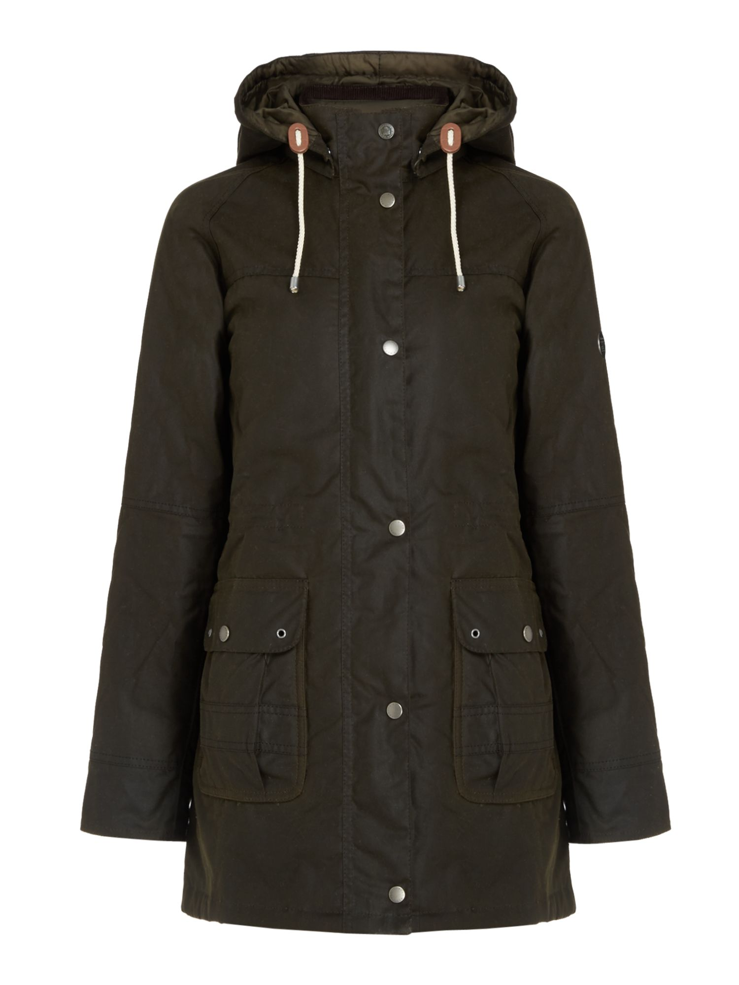 Barbour Seaton Wax Jacket, Olive