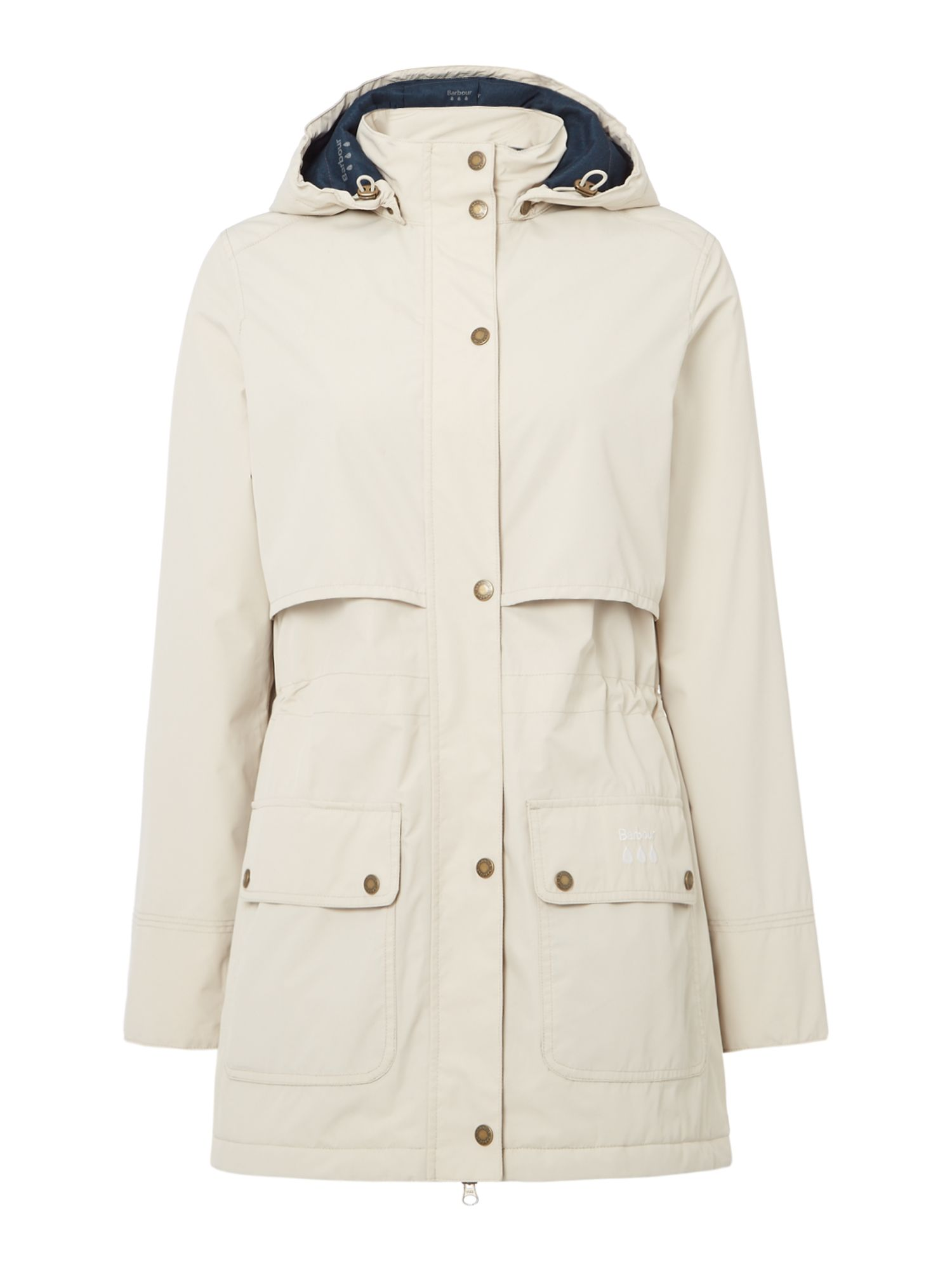 Barbour Stratus Jacket, Off White