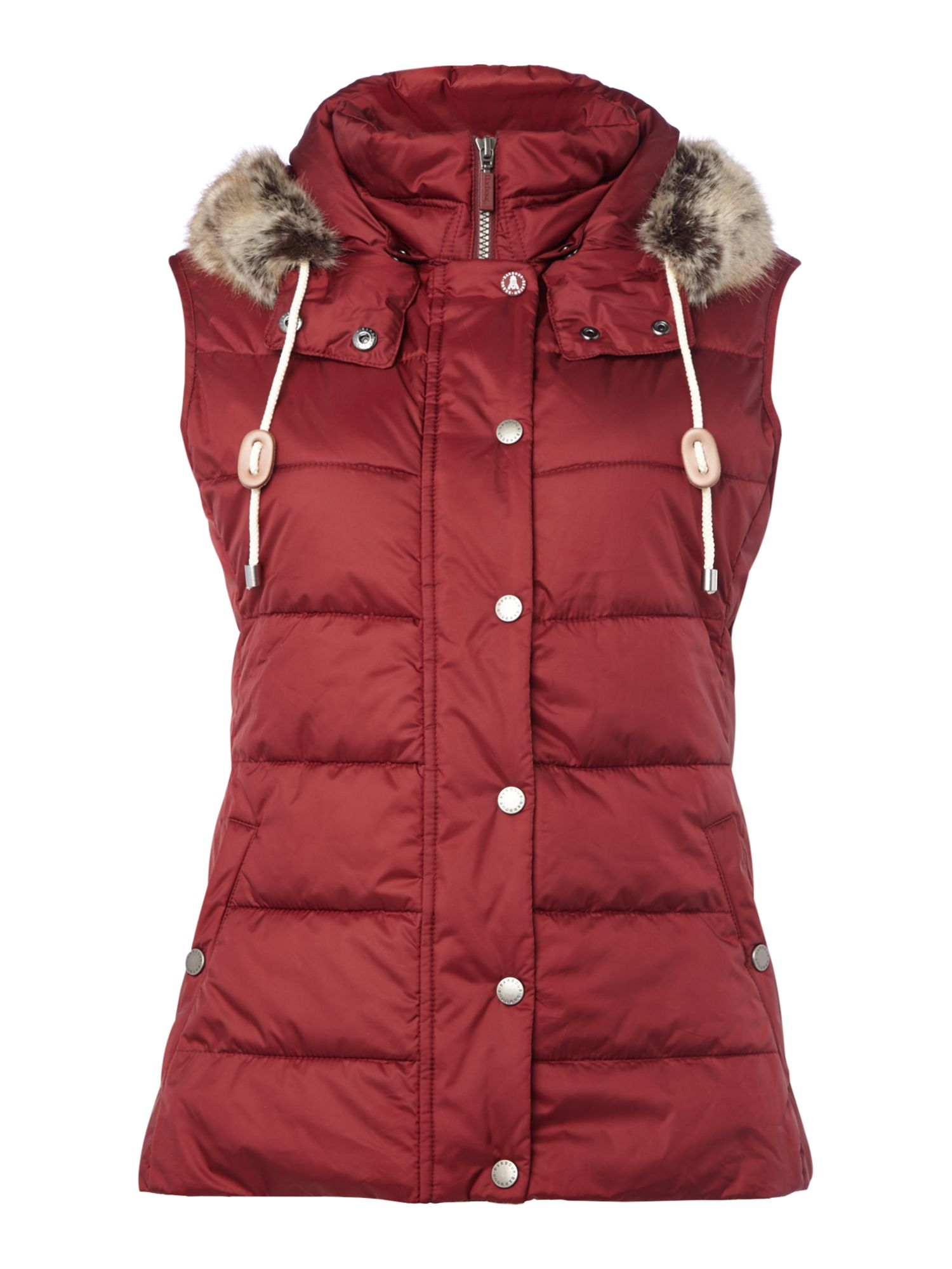 Barbour Beachly Gilet, Wine