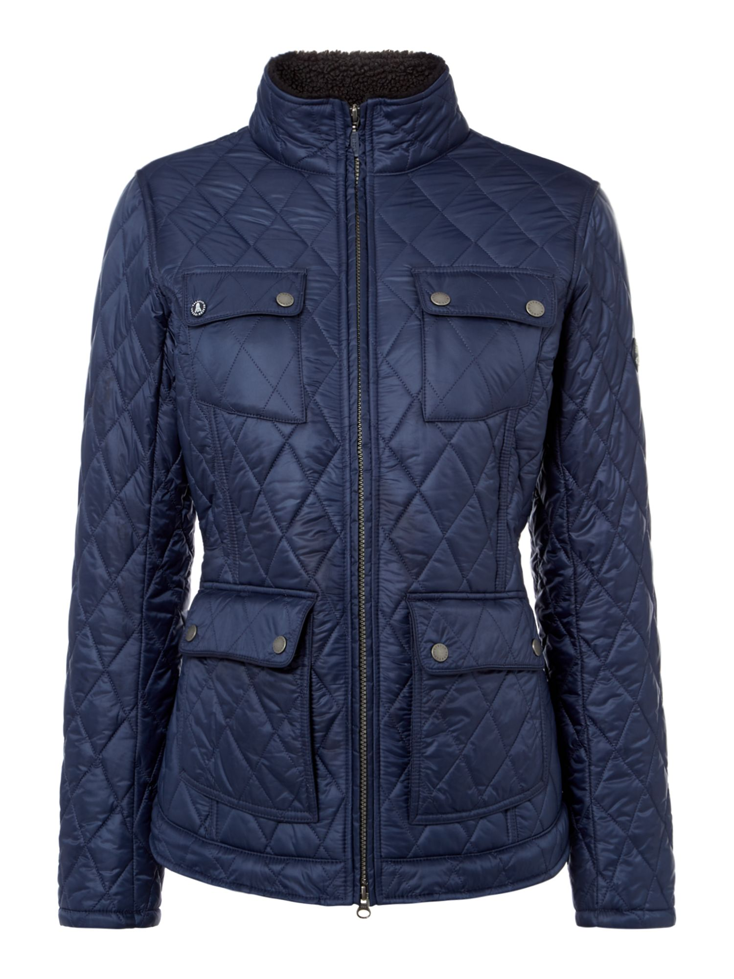 Barbour Filey Quilted Jacket, Blue