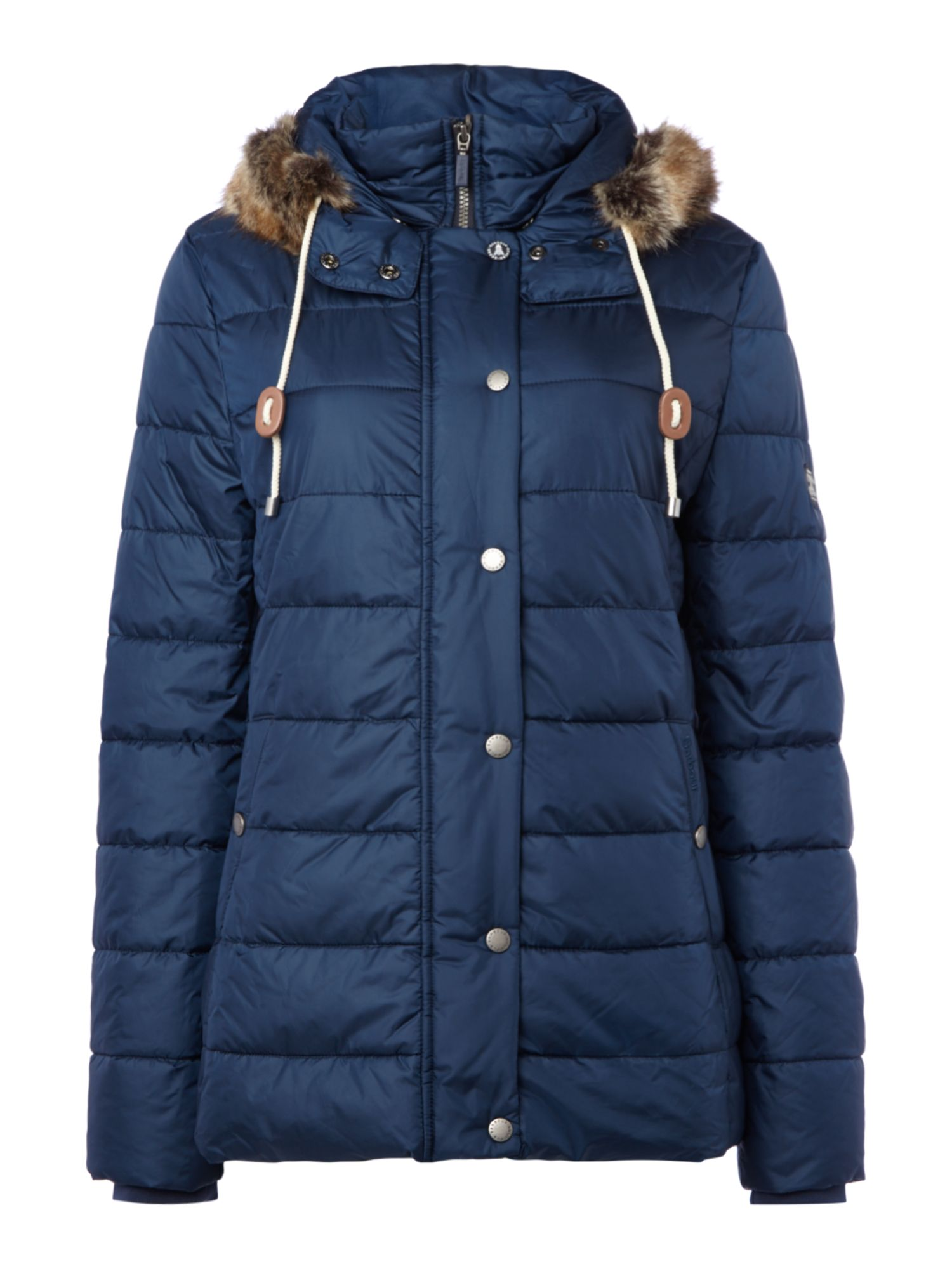 Barbour Shipper Quilted Jacket, Blue