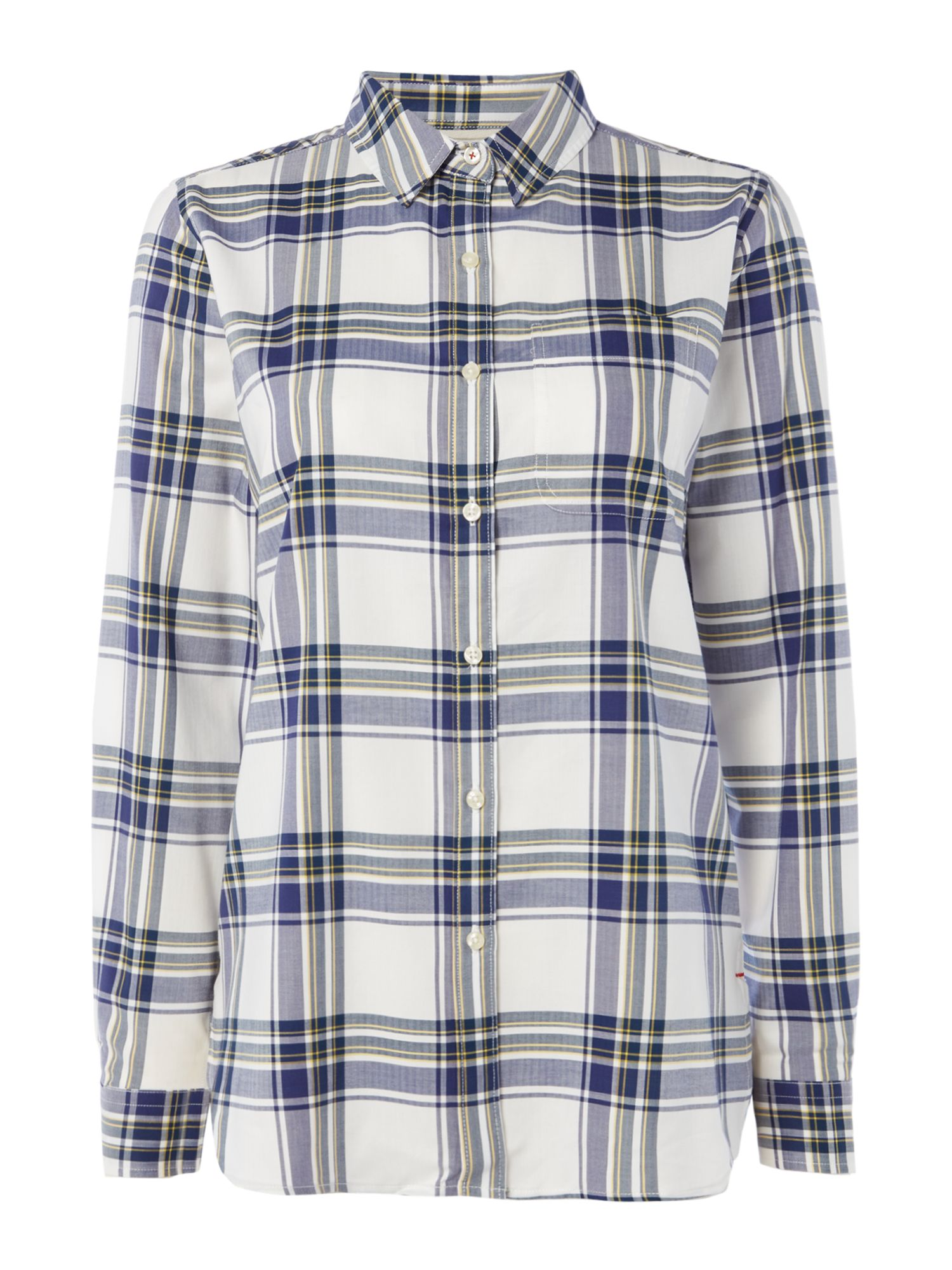 Barbour Newton Checked Shirt, Multi-Coloured