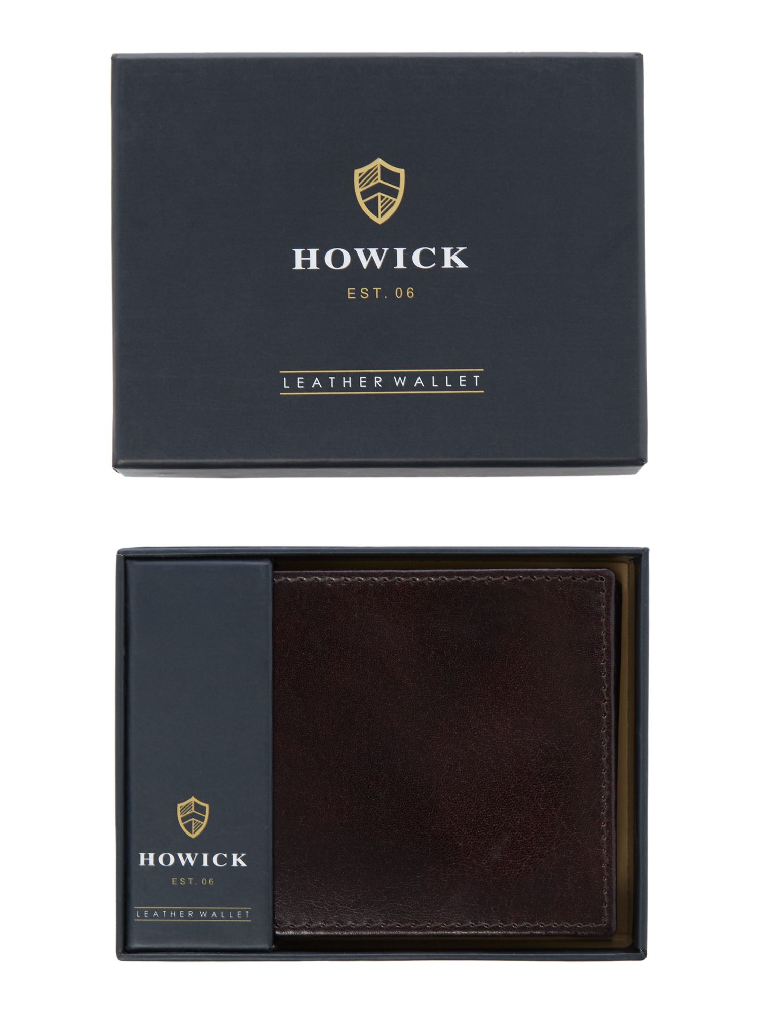 Howick Leather Wallet, Brown